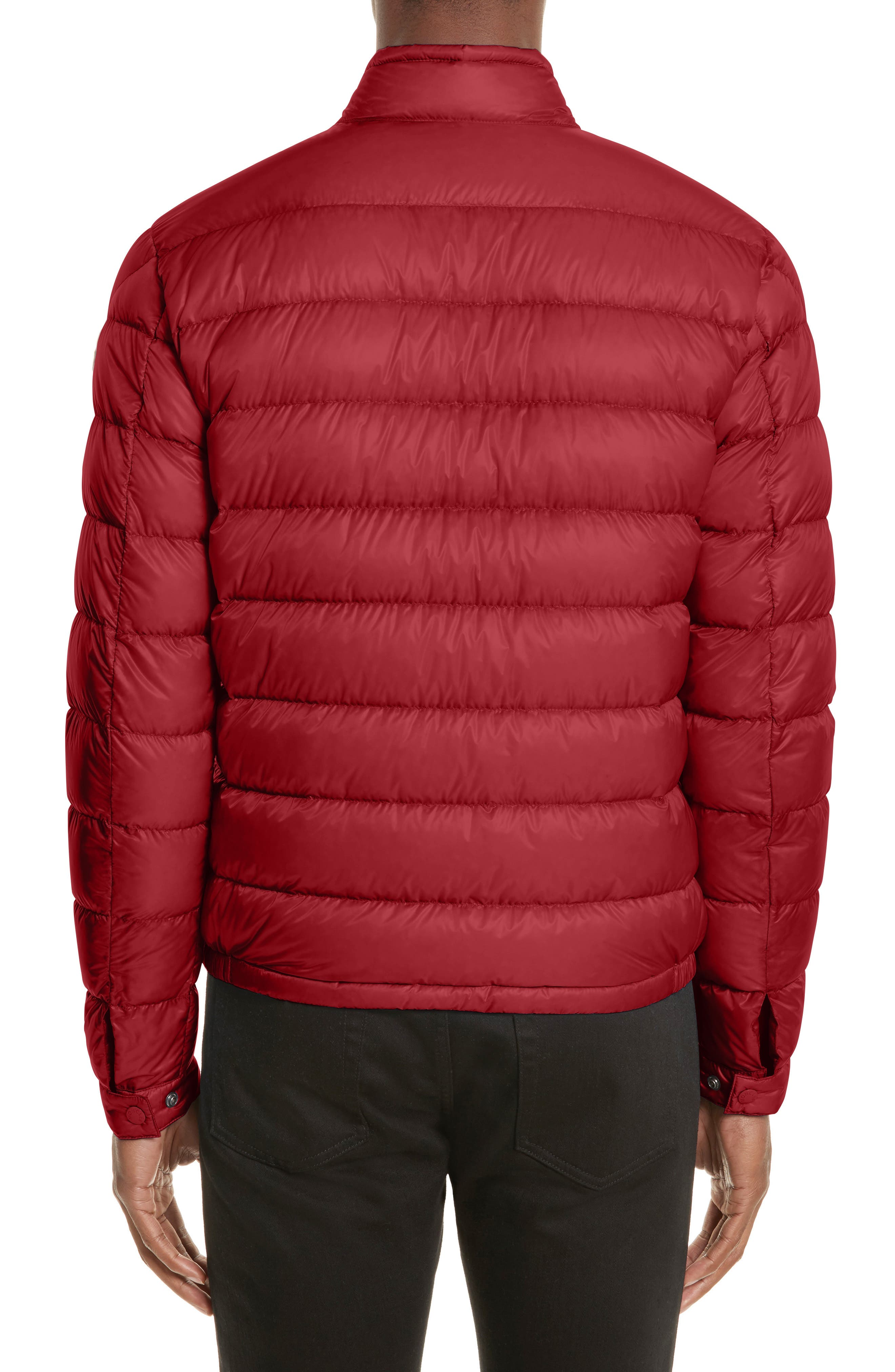 Acorus Down Quilted Jacket,                             Alternate thumbnail 2, color,                             Dark Red