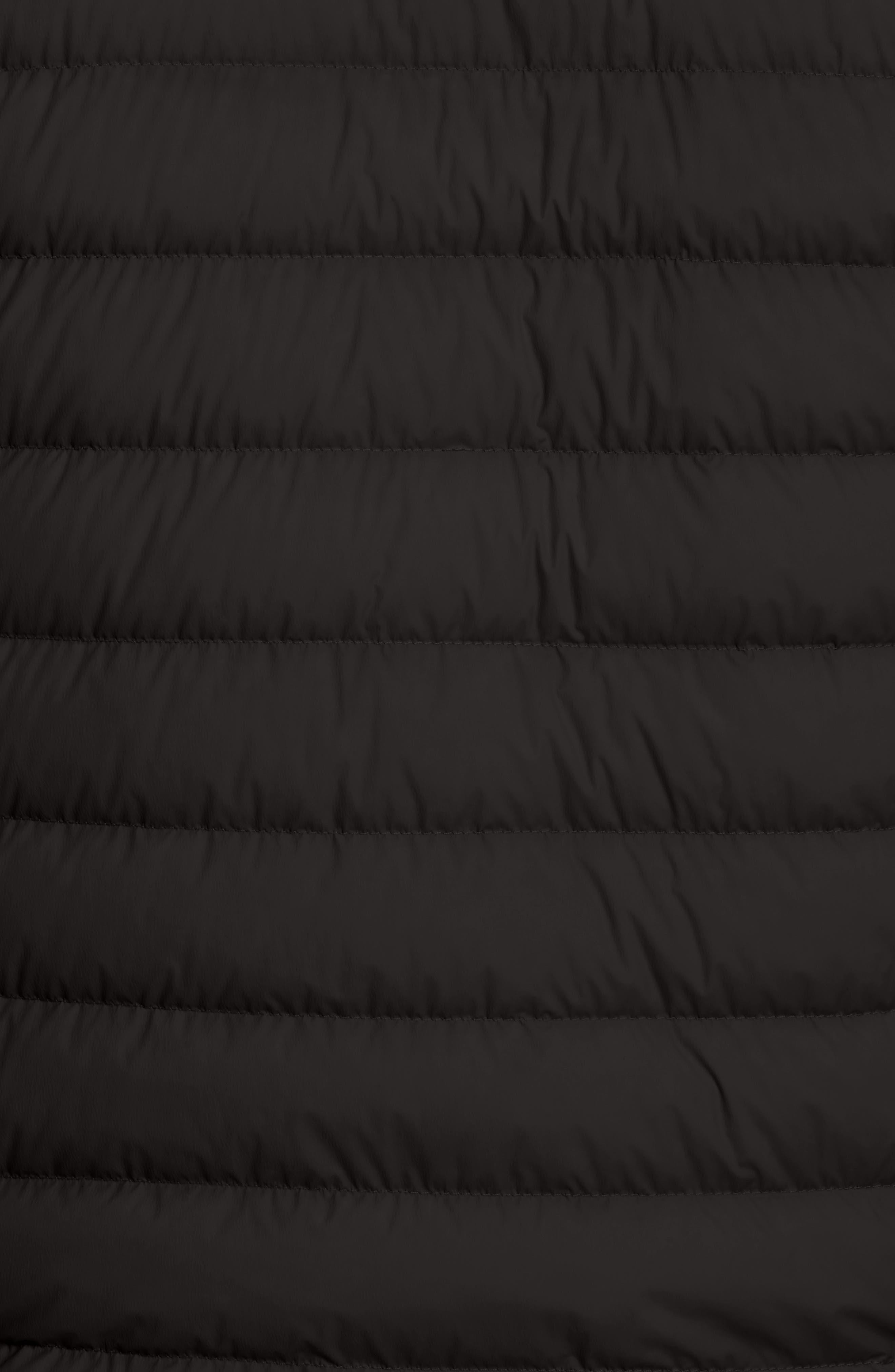 Acorus Down Jacket,                             Alternate thumbnail 5, color,                             Black