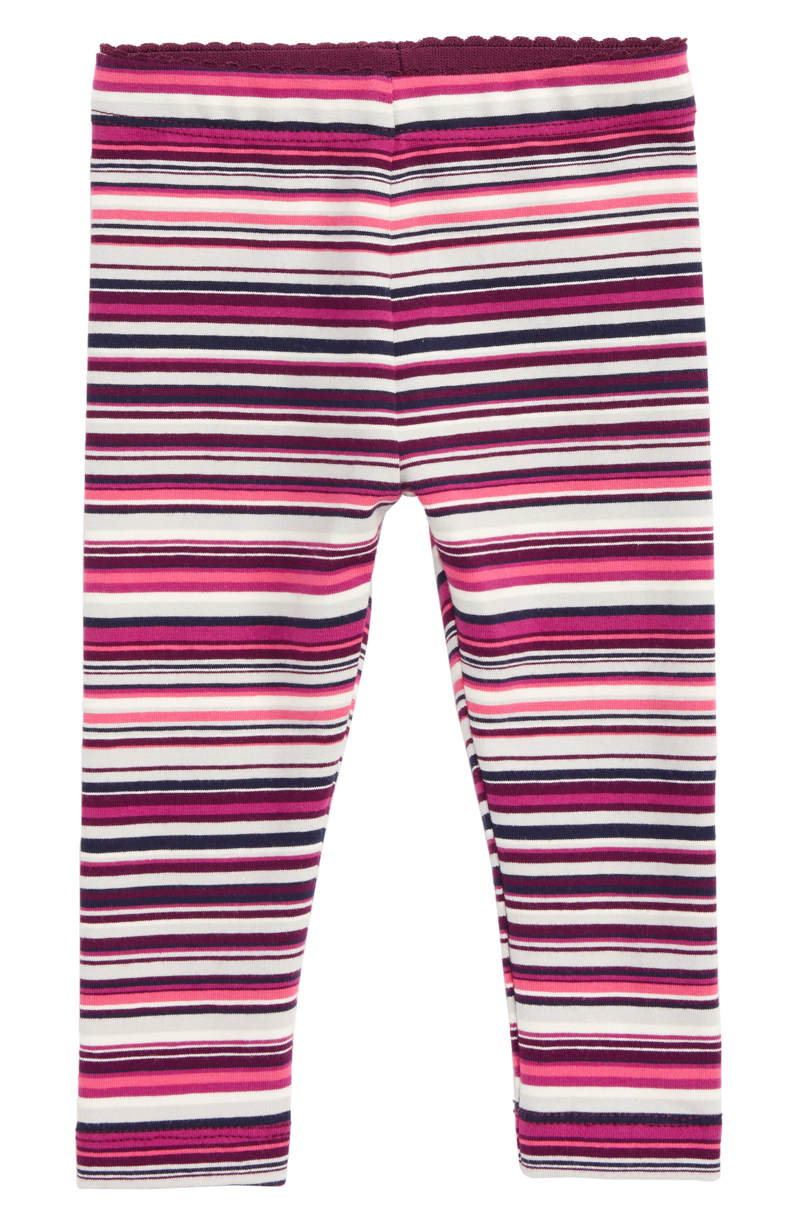 Alternate Image 1 Selected - Tea Collection Stripe Leggings (Baby Girls)