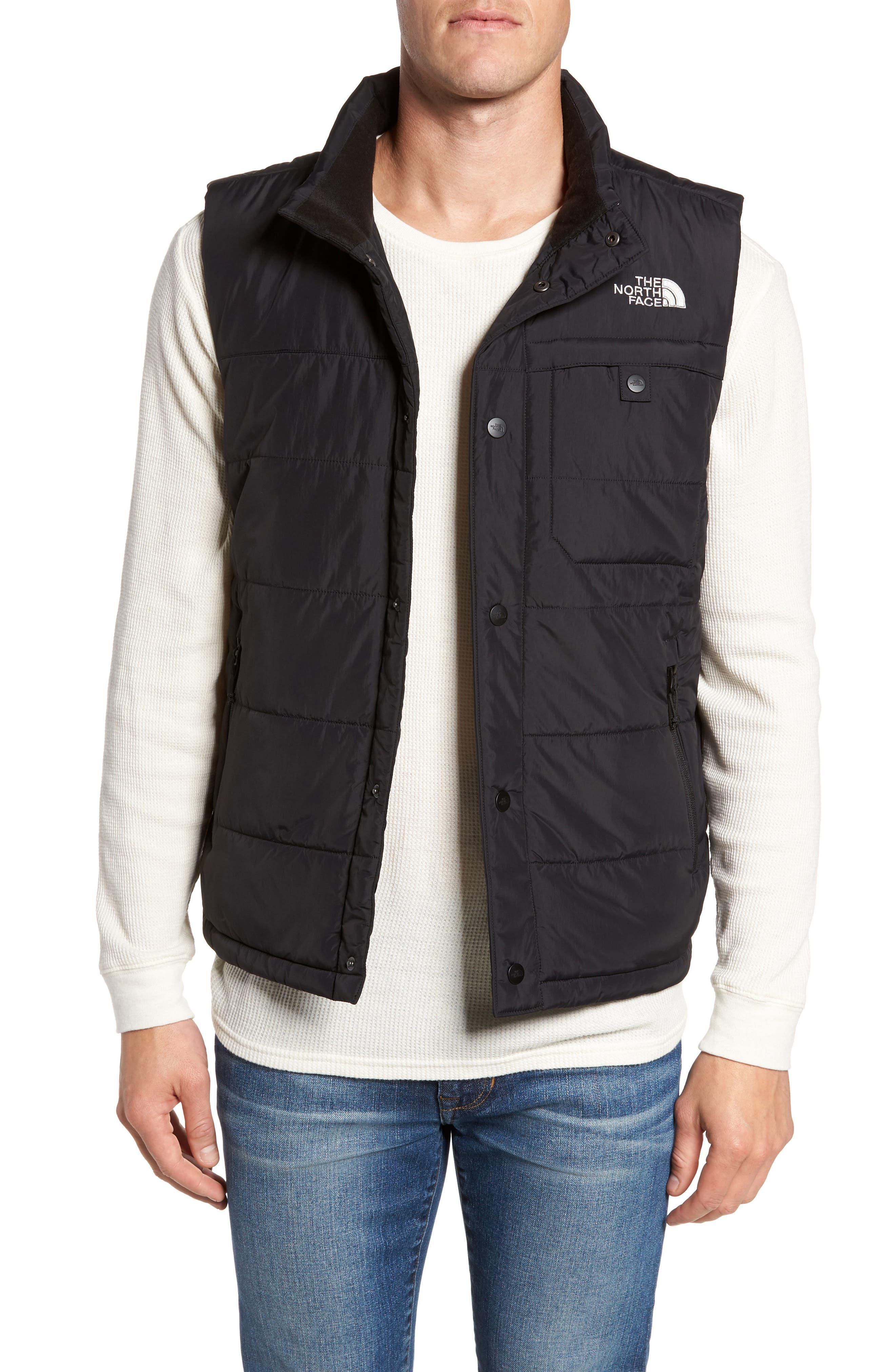 Harway Heatseeker Insulated Vest,                         Main,                         color, Black/ Black