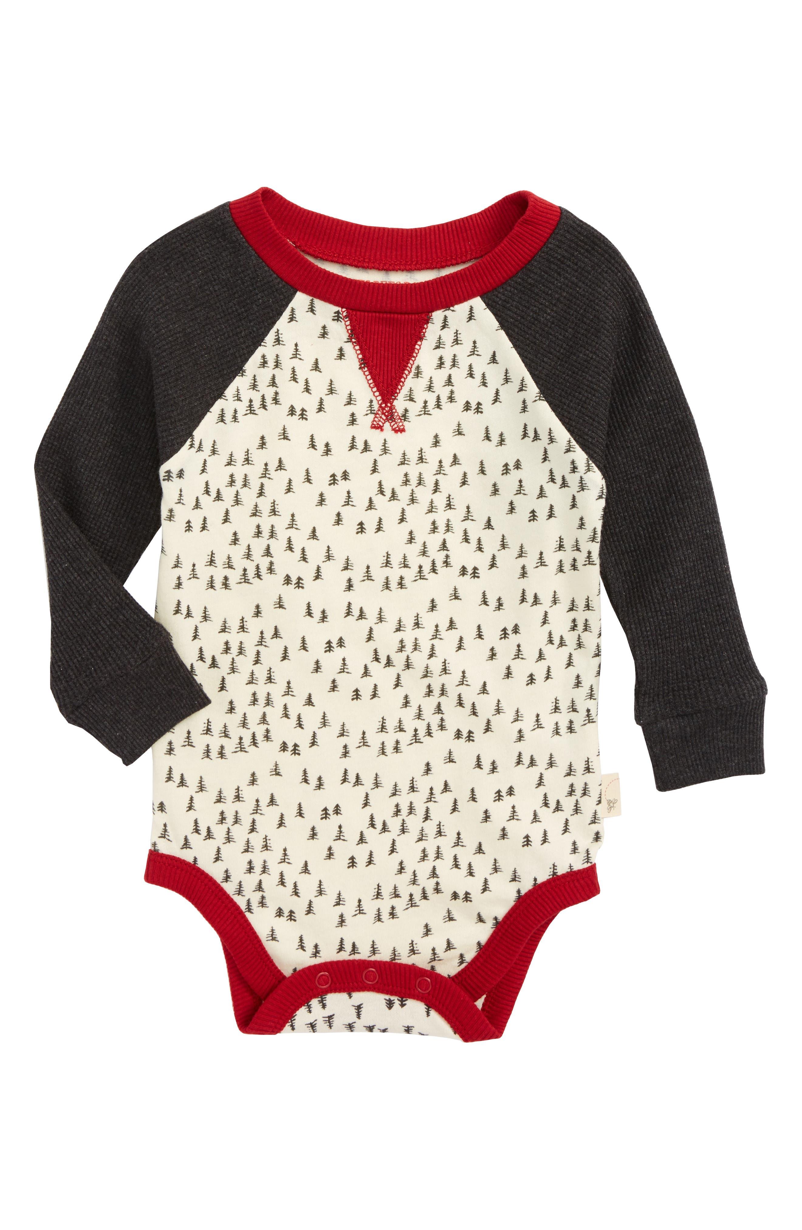 Main Image - Burt's Bees Baby Organic Cotton Bodysuit (Baby)