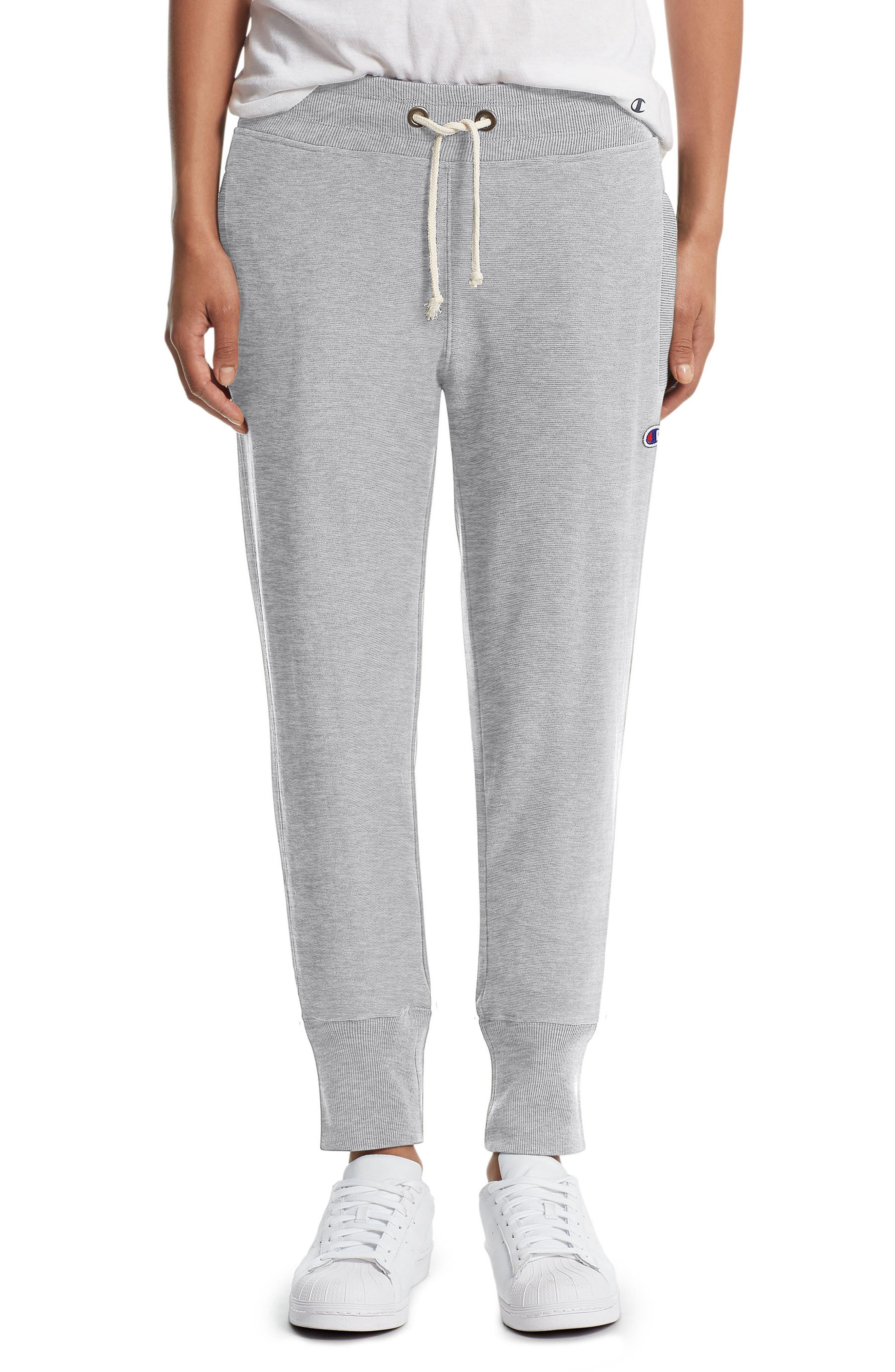 Reverse Weave<sup>®</sup> Jogger Pants,                             Main thumbnail 1, color,                             Oxford Grey