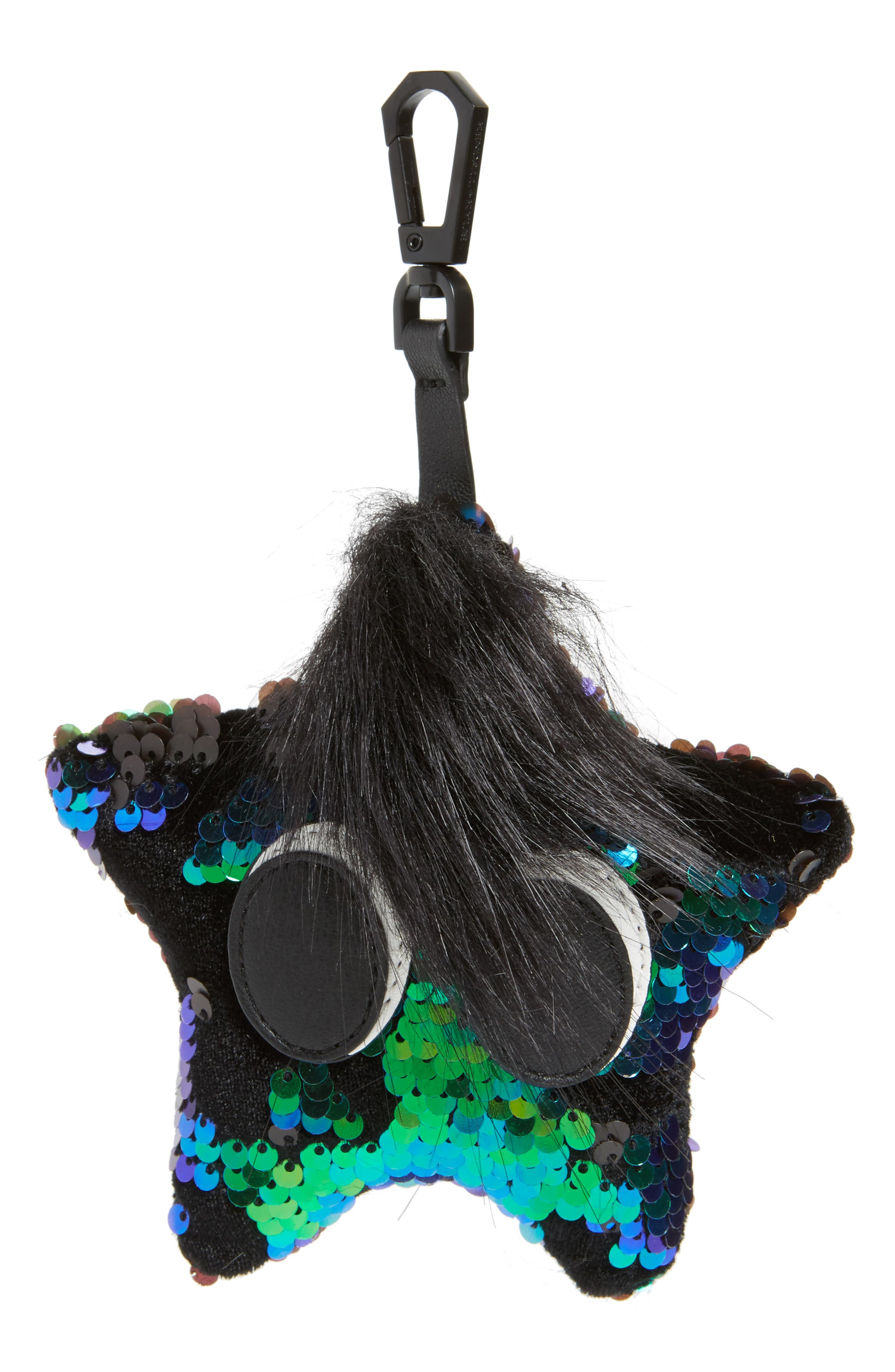 Main Image - KENDALL + KYLIE Starboy Sequin Bag Charm