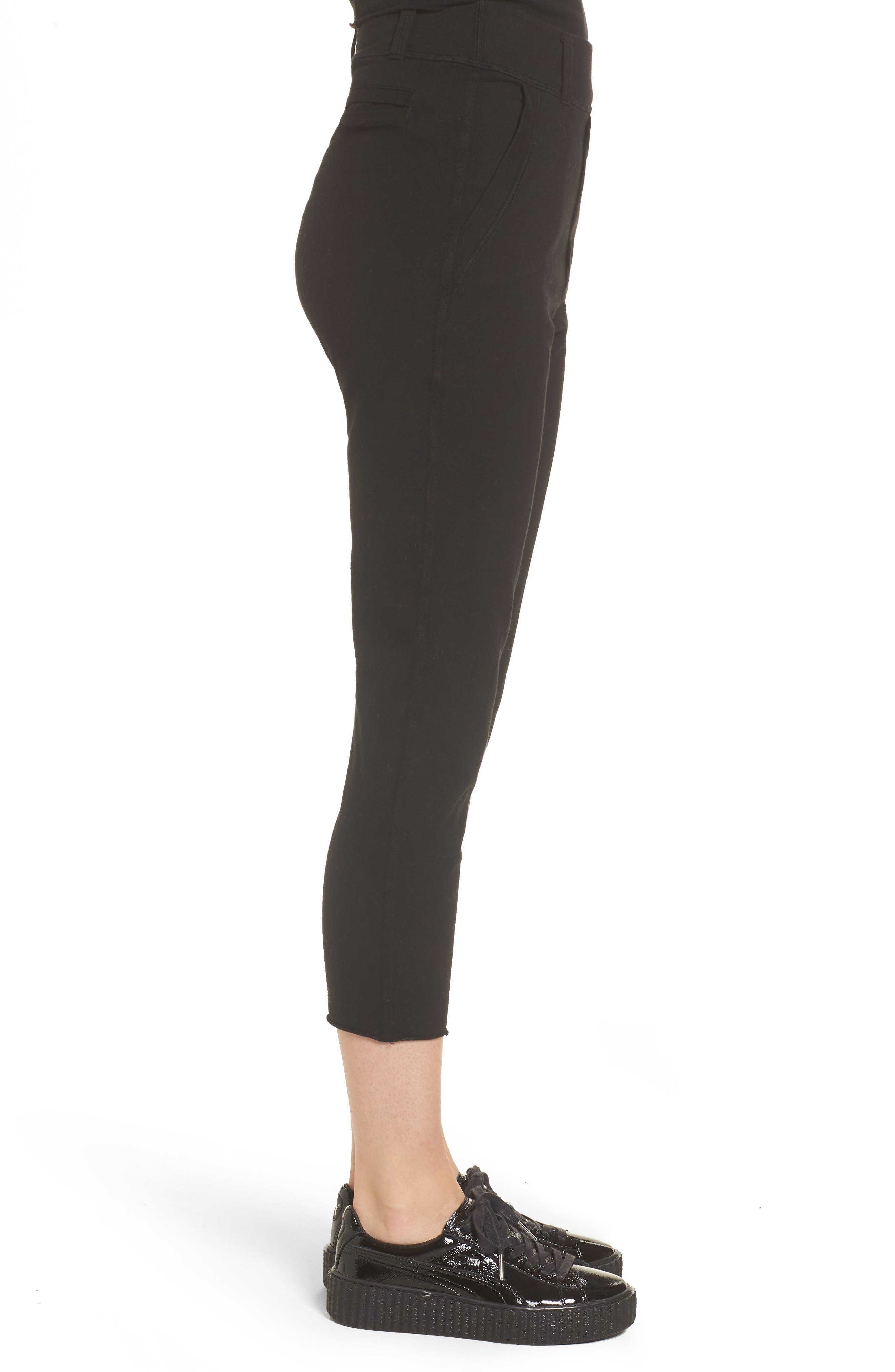 The Trouser Knit Pants,                             Alternate thumbnail 3, color,                             Blackout