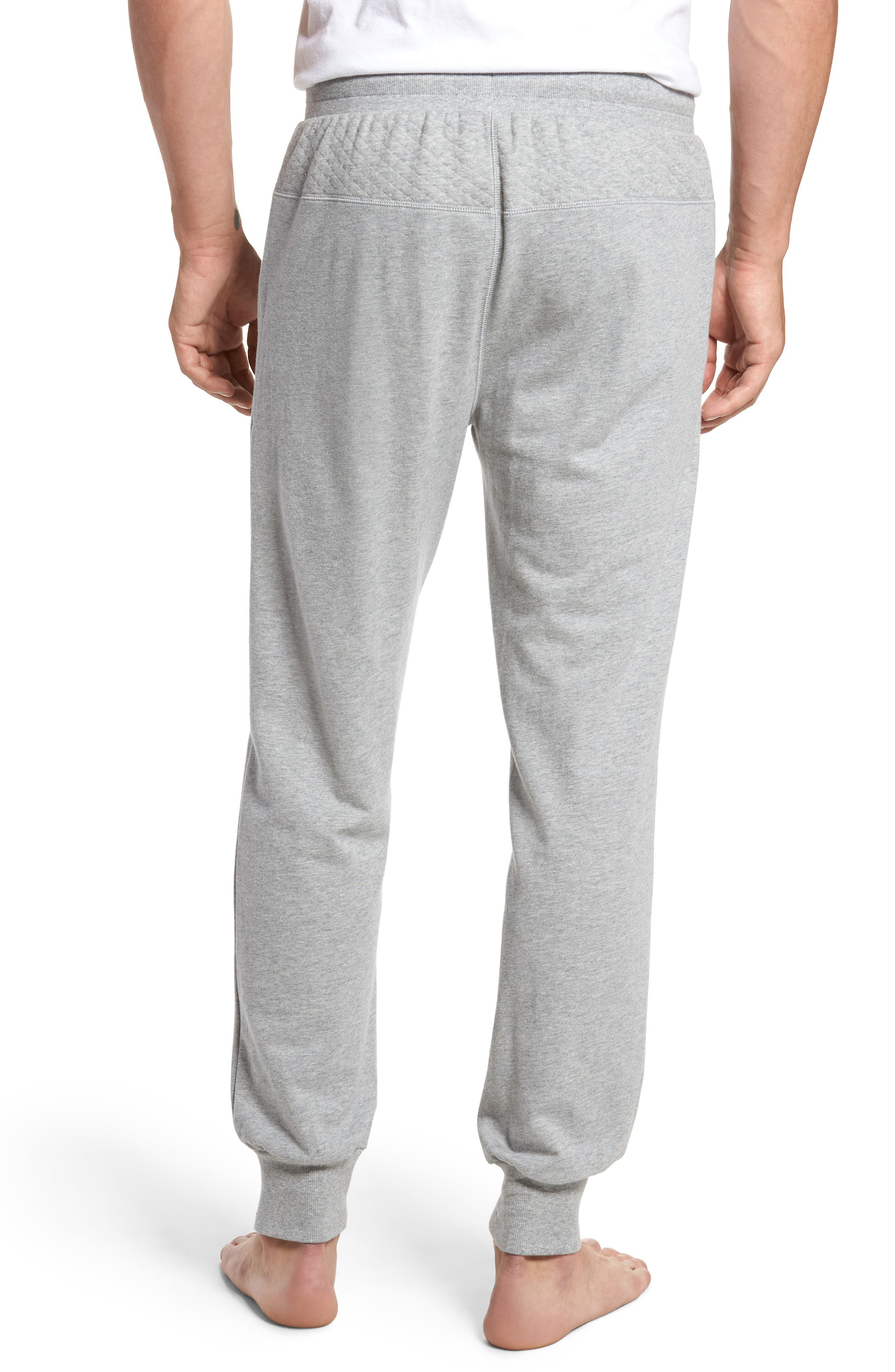 Alternate Image 2  - Nordstrom Men's Shop Quilted Lounge Pants