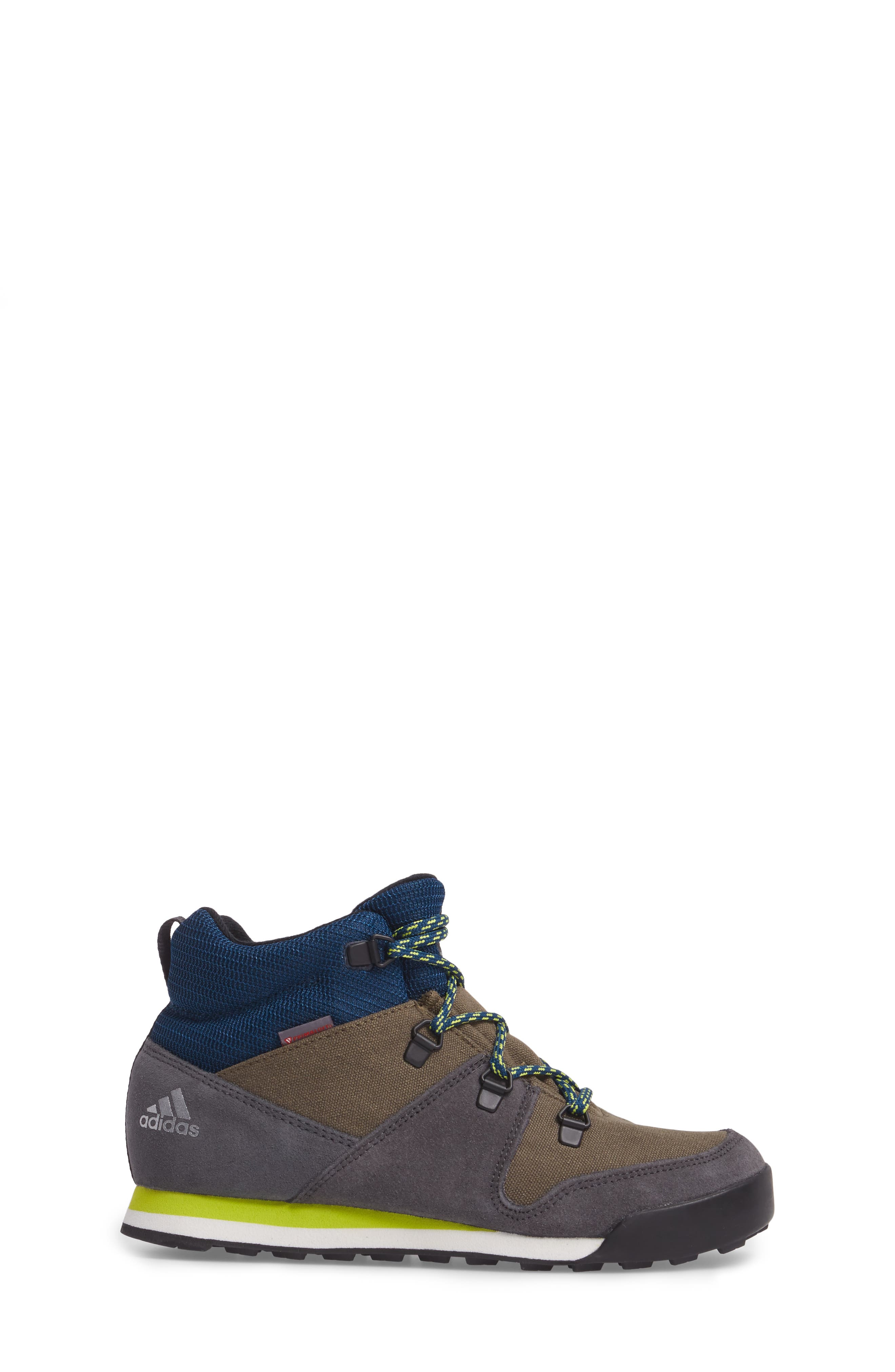 Snowpitch Insulated Sneaker Boot,                             Alternate thumbnail 3, color,                             Cargo/ Black/ Solar Yellow