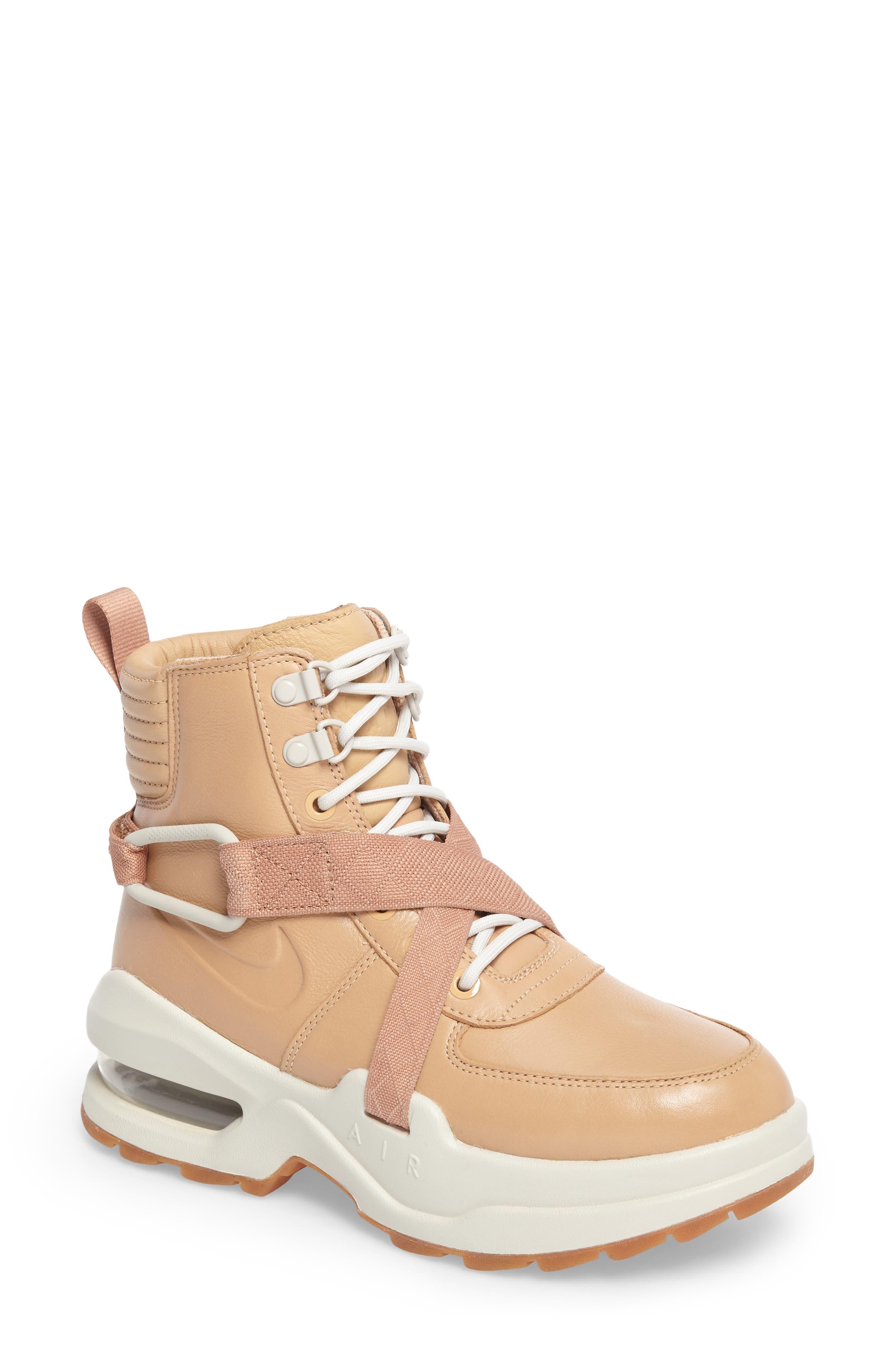 Air Max Goadome Sneaker Boot,                             Main thumbnail 1, color,                             Tan/ Tan/ Light Bone/ Clay