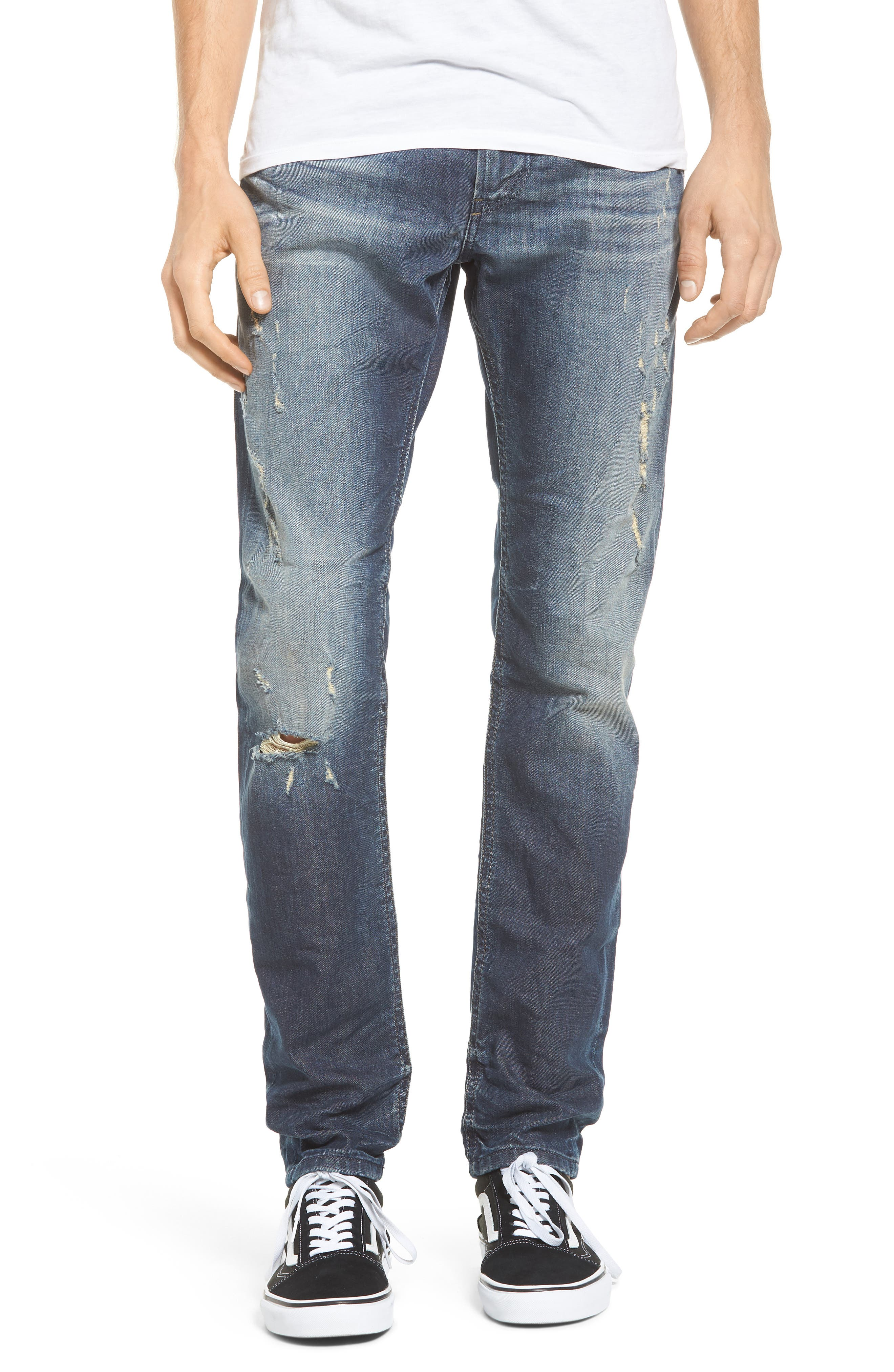 Thommer Slim Fit Jeans,                             Main thumbnail 1, color,                             Denim