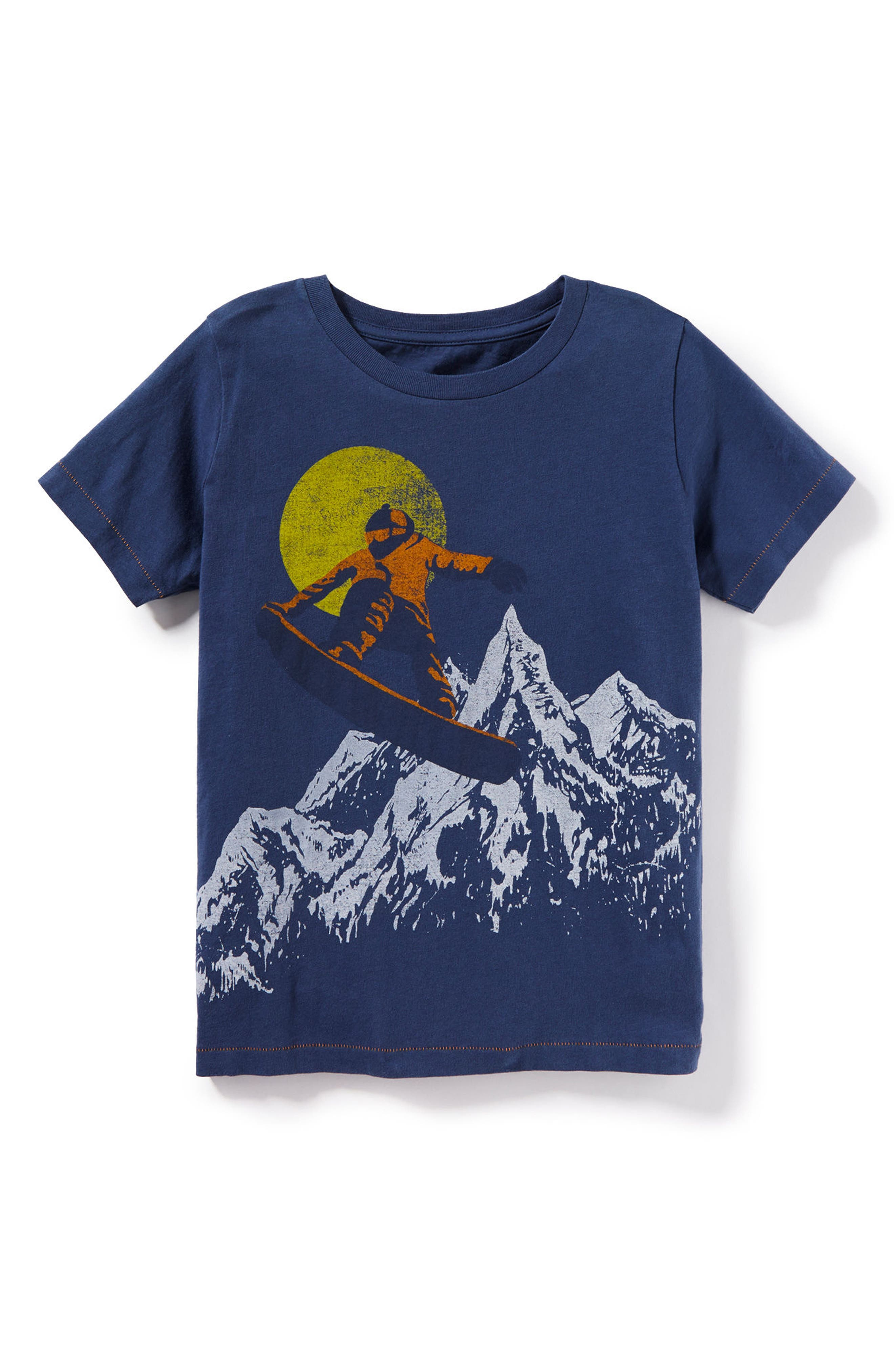 Be Free Ride On Graphic T-Shirt,                         Main,                         color, Blue