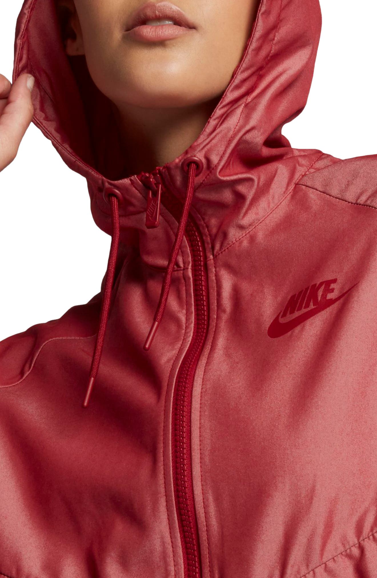 Windrunner Jacket,                             Alternate thumbnail 5, color,                             Tough Red/ Tough Red