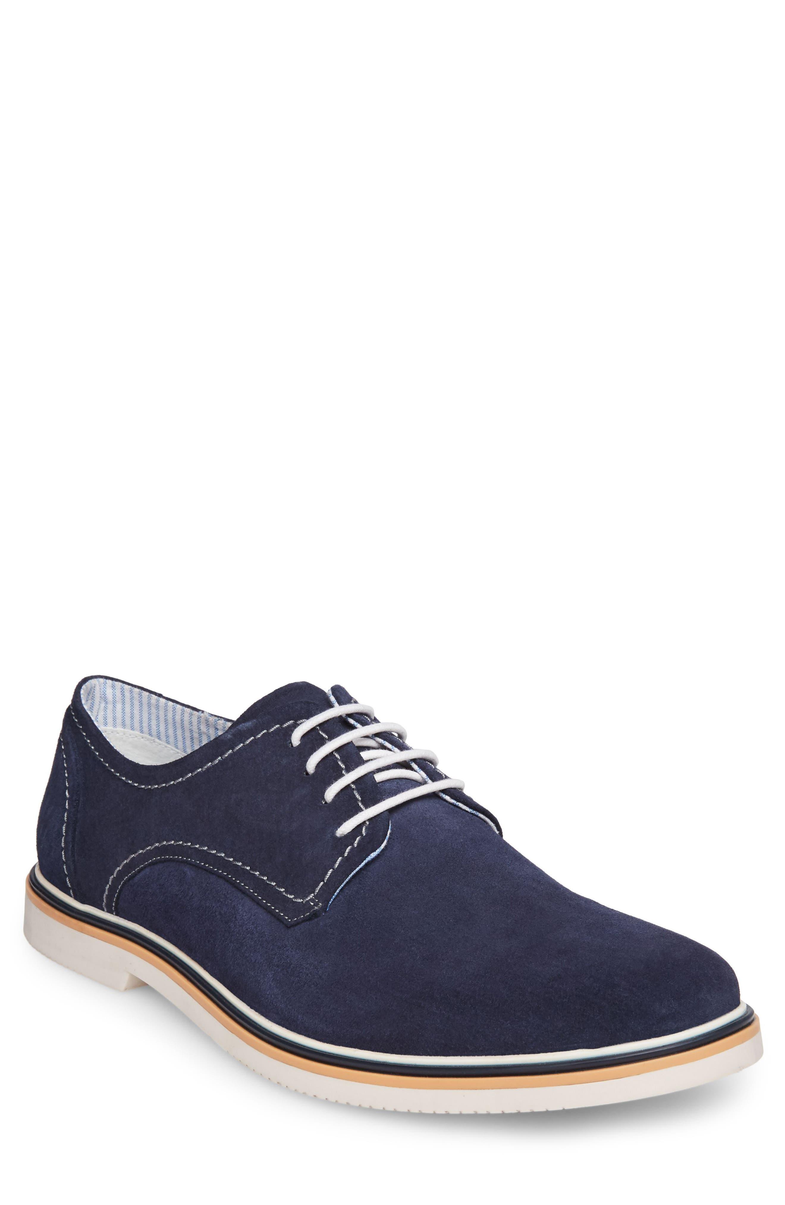 Frick Buck Shoe,                         Main,                         color, Navy Suede