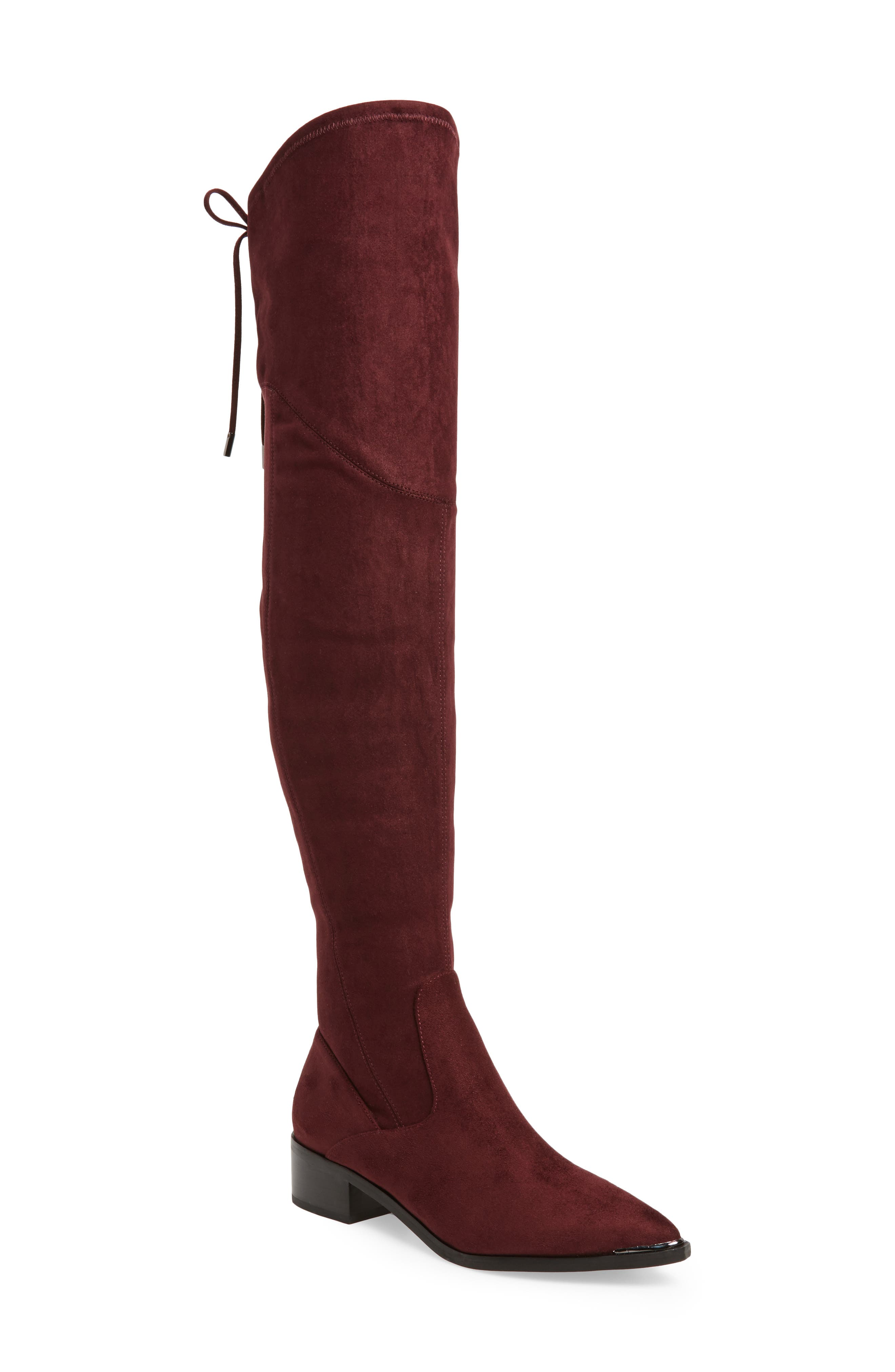 Yuna Over the Knee Boot (Women) (Narrow Calf). DARK ...