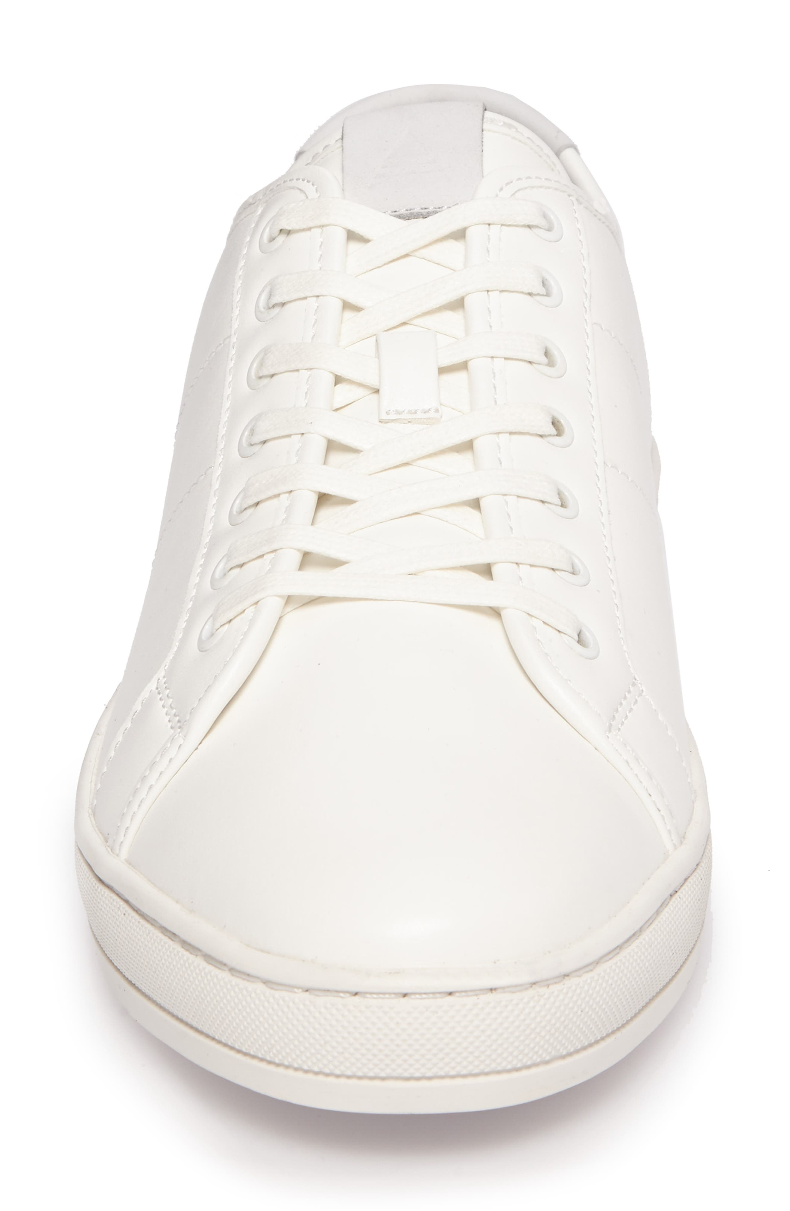 Delello Low-Top Sneaker,                             Alternate thumbnail 4, color,                             White