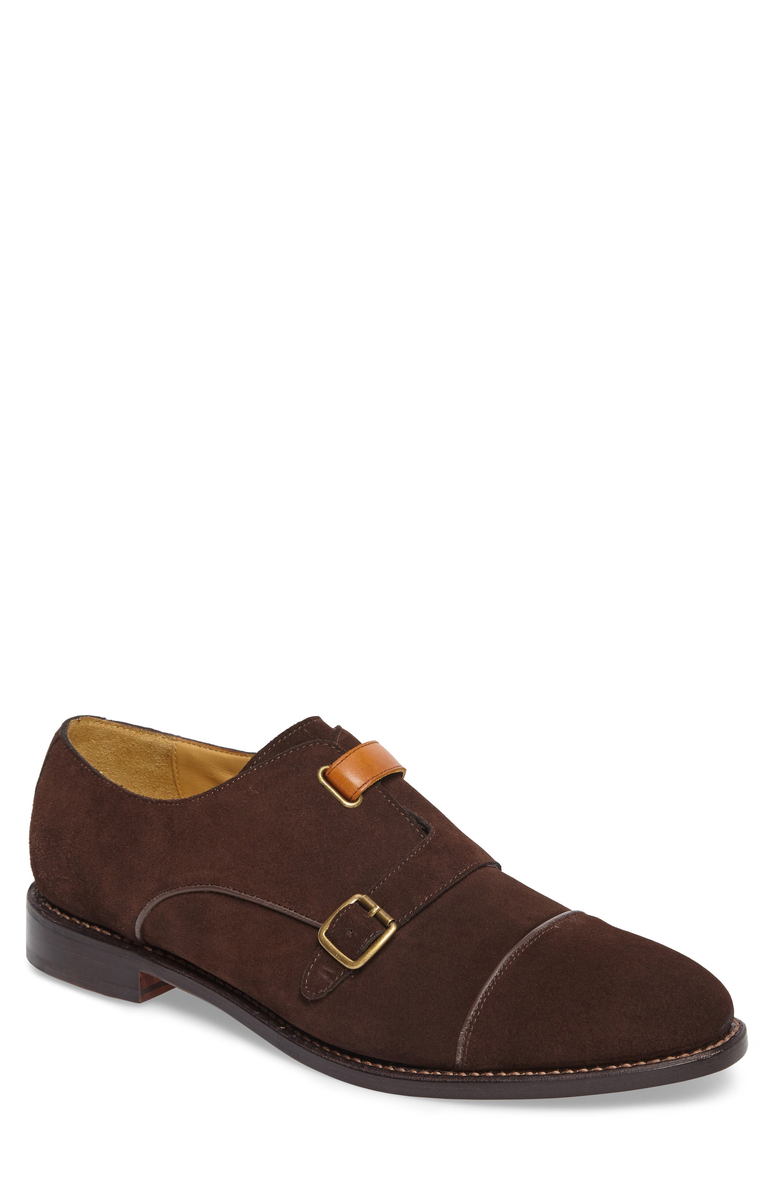 Main Image - Michael Bastian Brando Cap Toe Monk Shoe (Men)