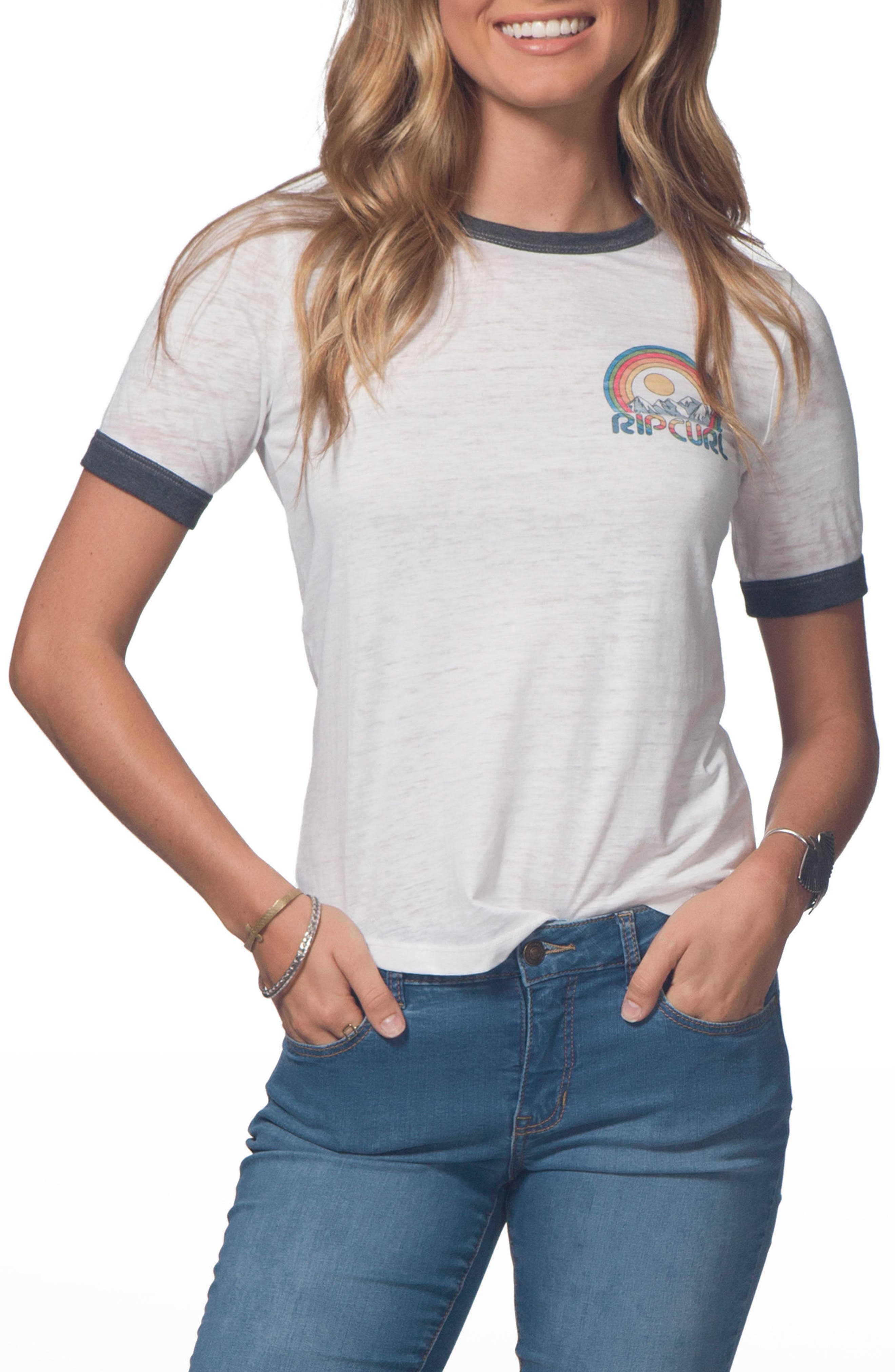 Rip Curl Snow Days Ringer Tee