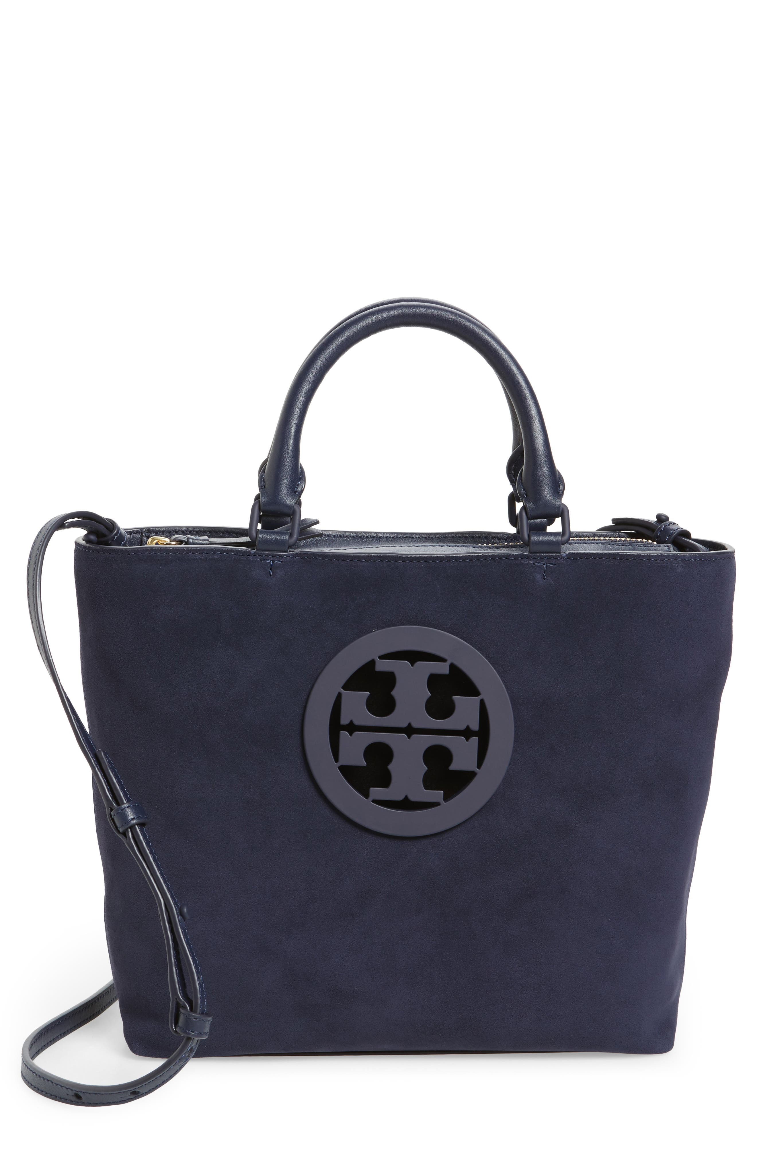 Main Image - Tory Burch Small Charlie Suede Tote