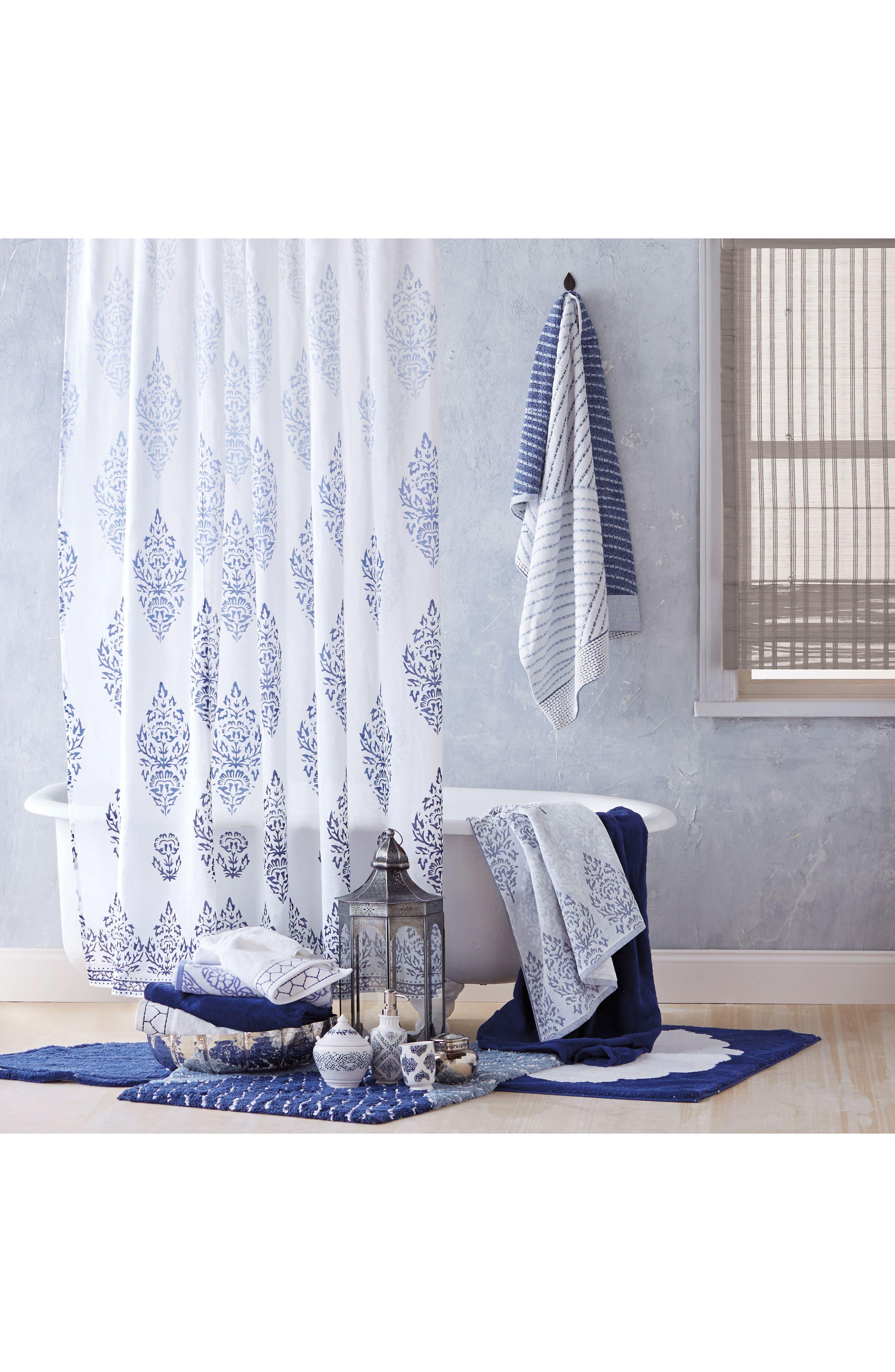 Jalati Hand Towel,                             Alternate thumbnail 4, color,                             Indigo