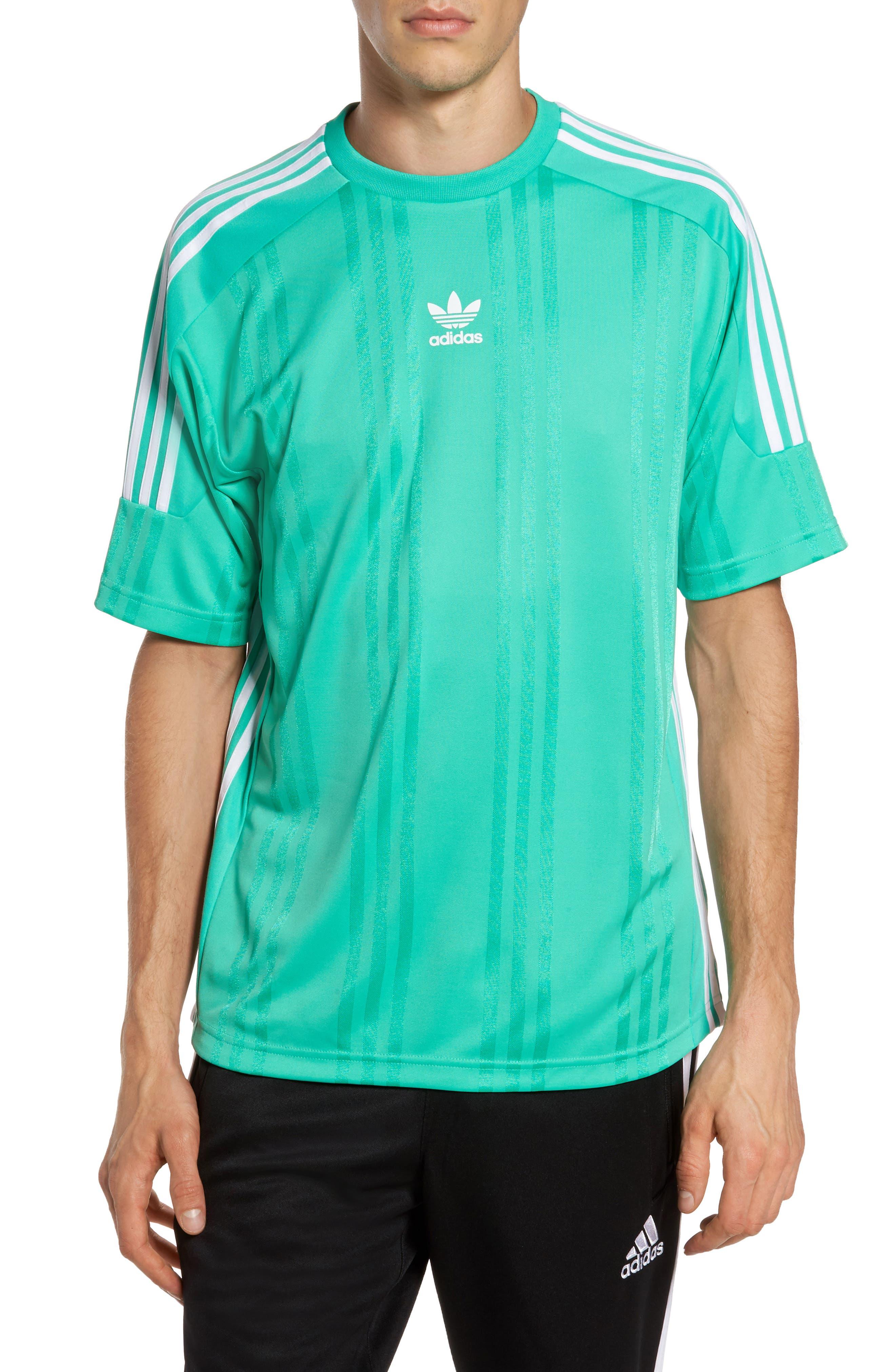 Alternate Image 1 Selected - adidas Originals Jacquard Stripe T-Shirt