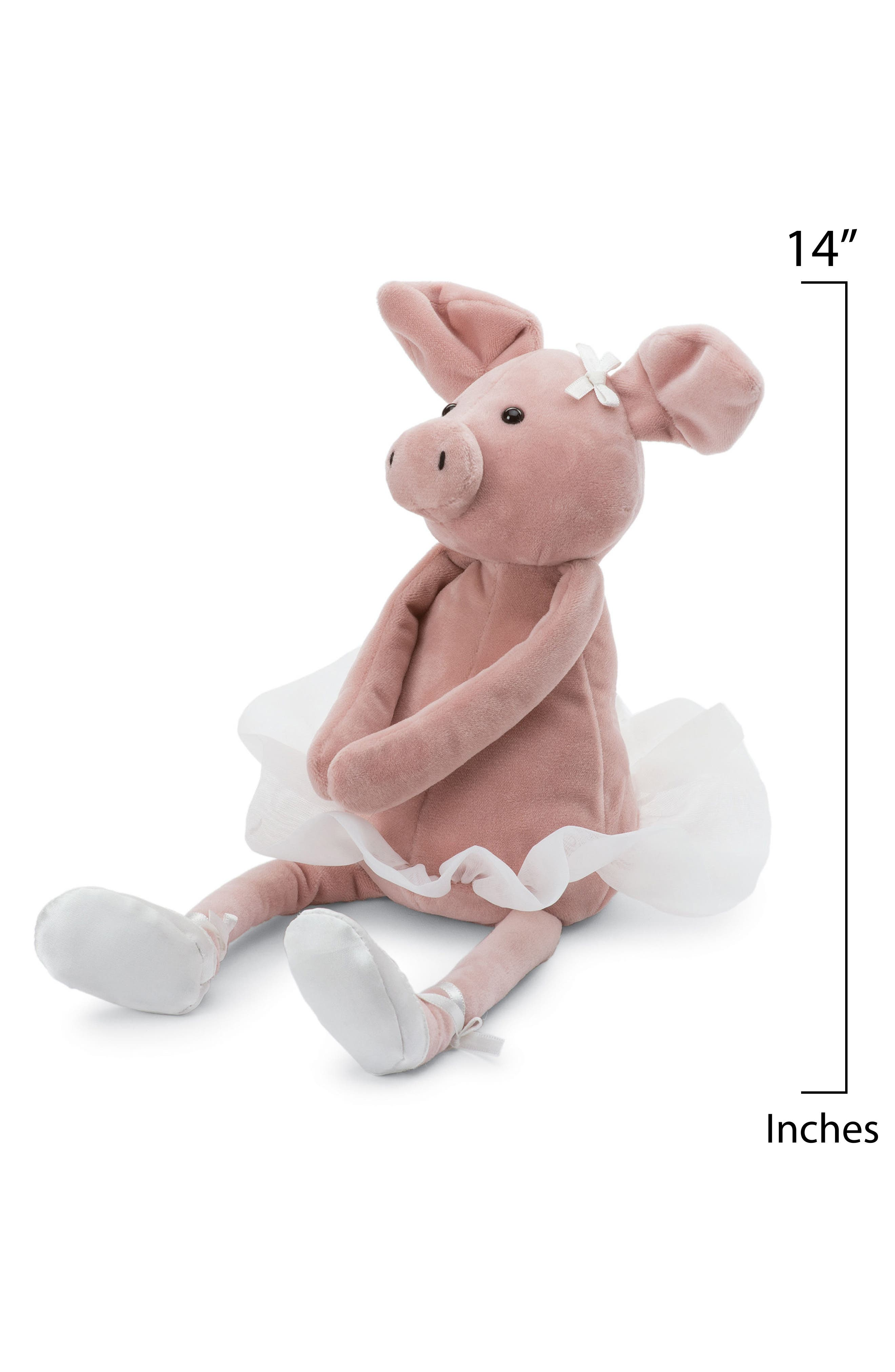 Dancing Darcey Piglet Stuffed Animal,                             Alternate thumbnail 2, color,                             Pink