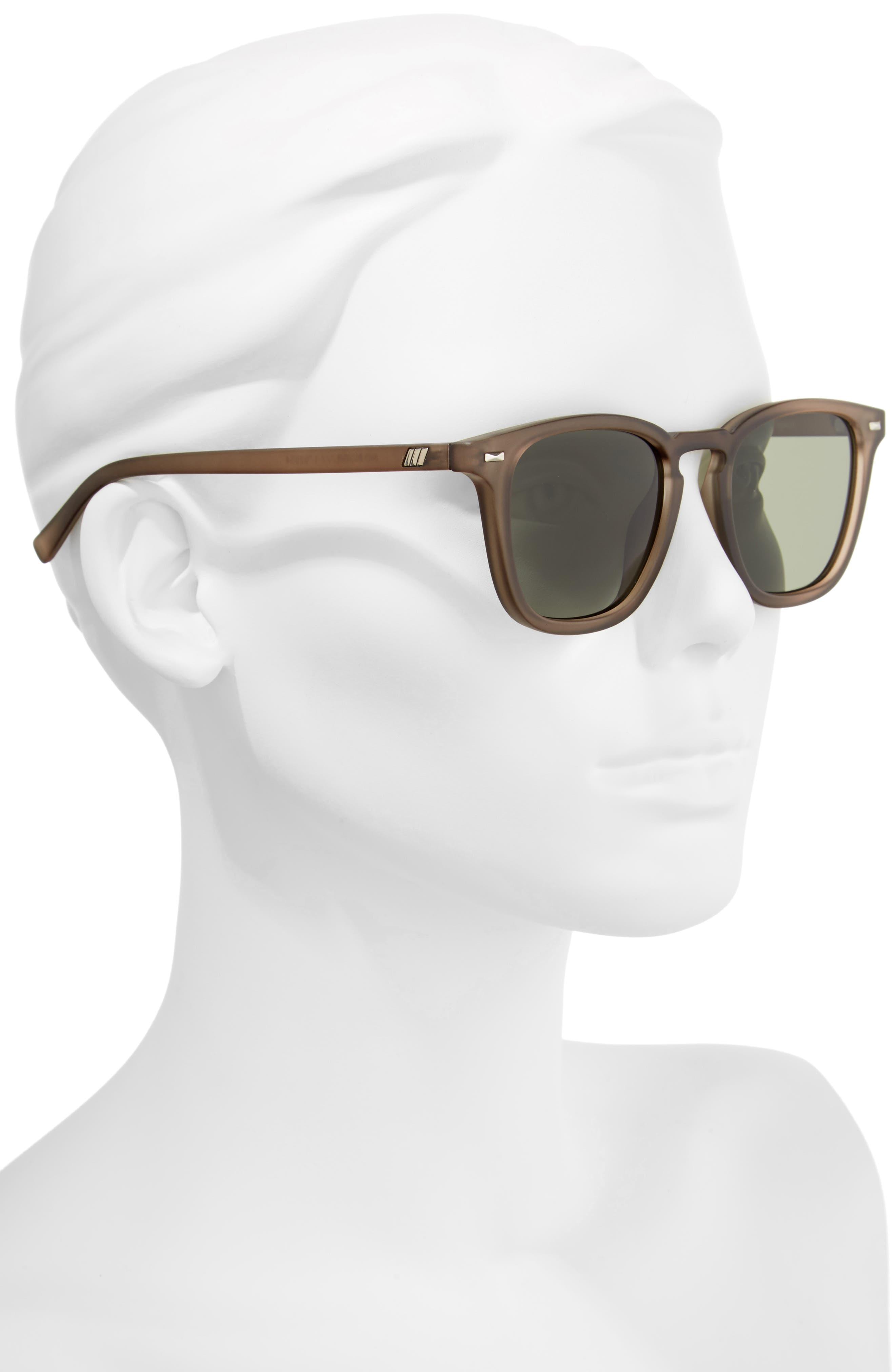 Alternate Image 2  - Le Specs No Biggie 45mm Polarized Sunglasses