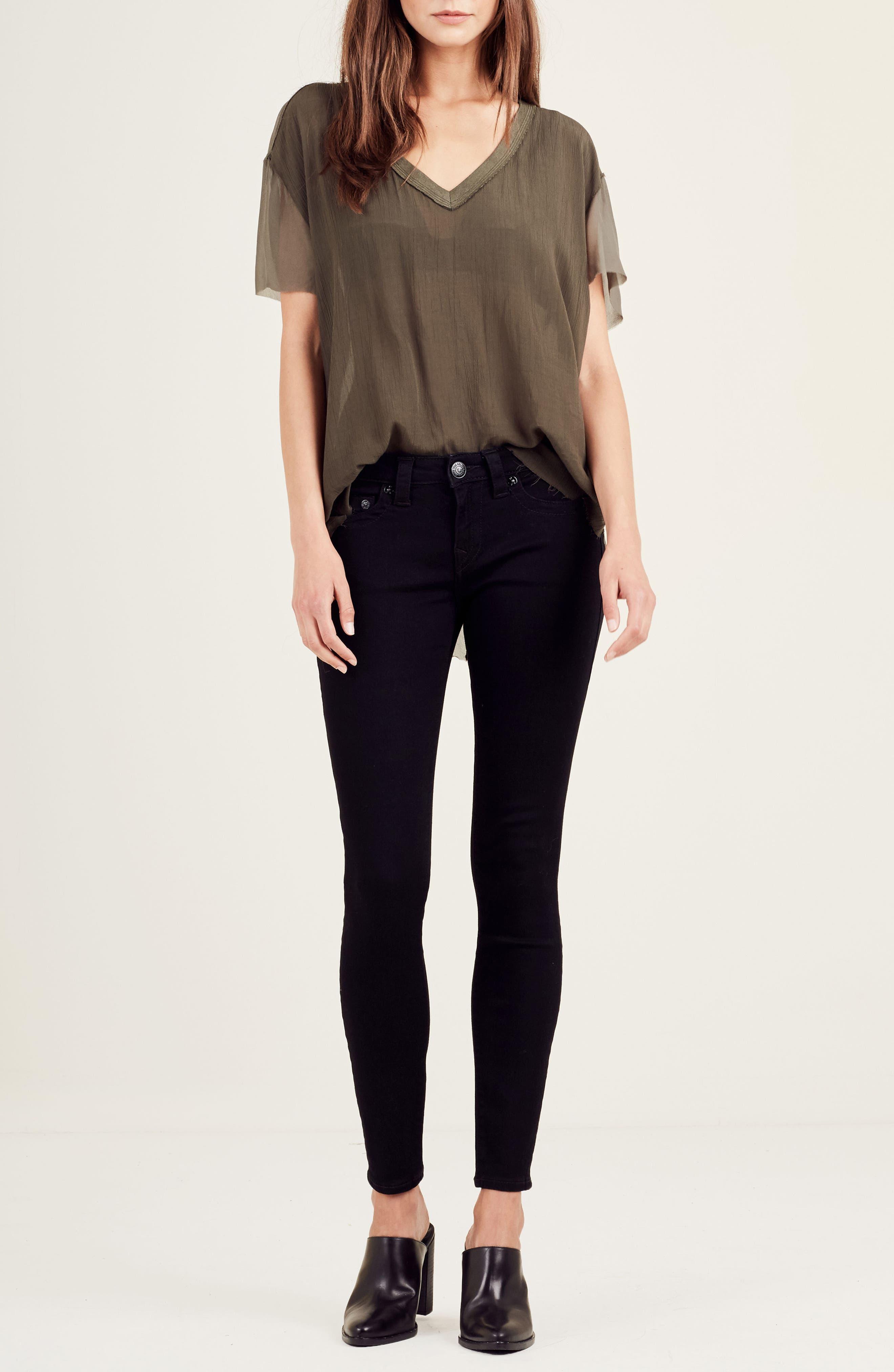 Alternate Image 2  - True Religion Brand Jeans Georgette Tee
