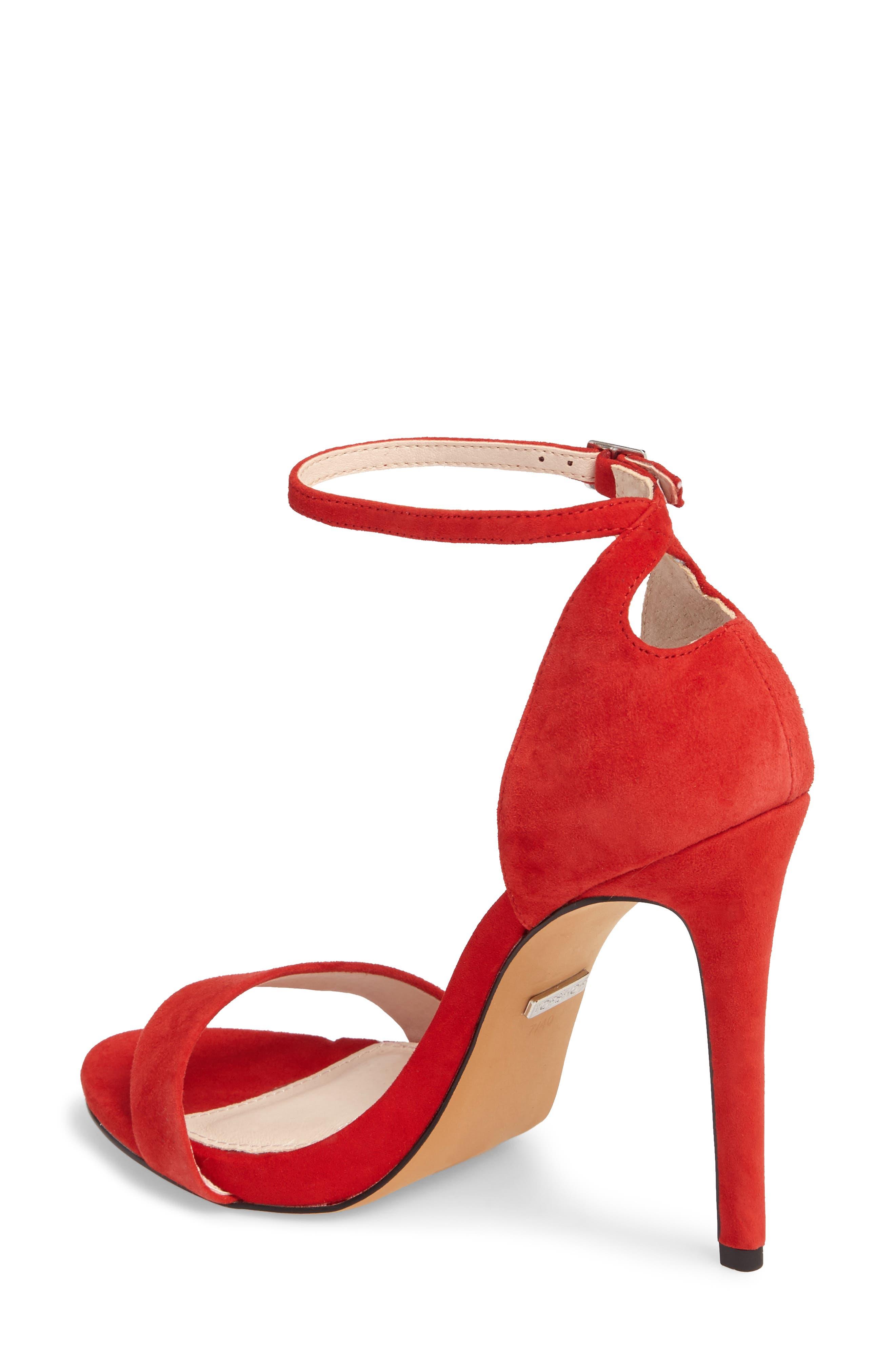 Alternate Image 2  - Topshop Raphie Ankle Strap Sandal (Women)
