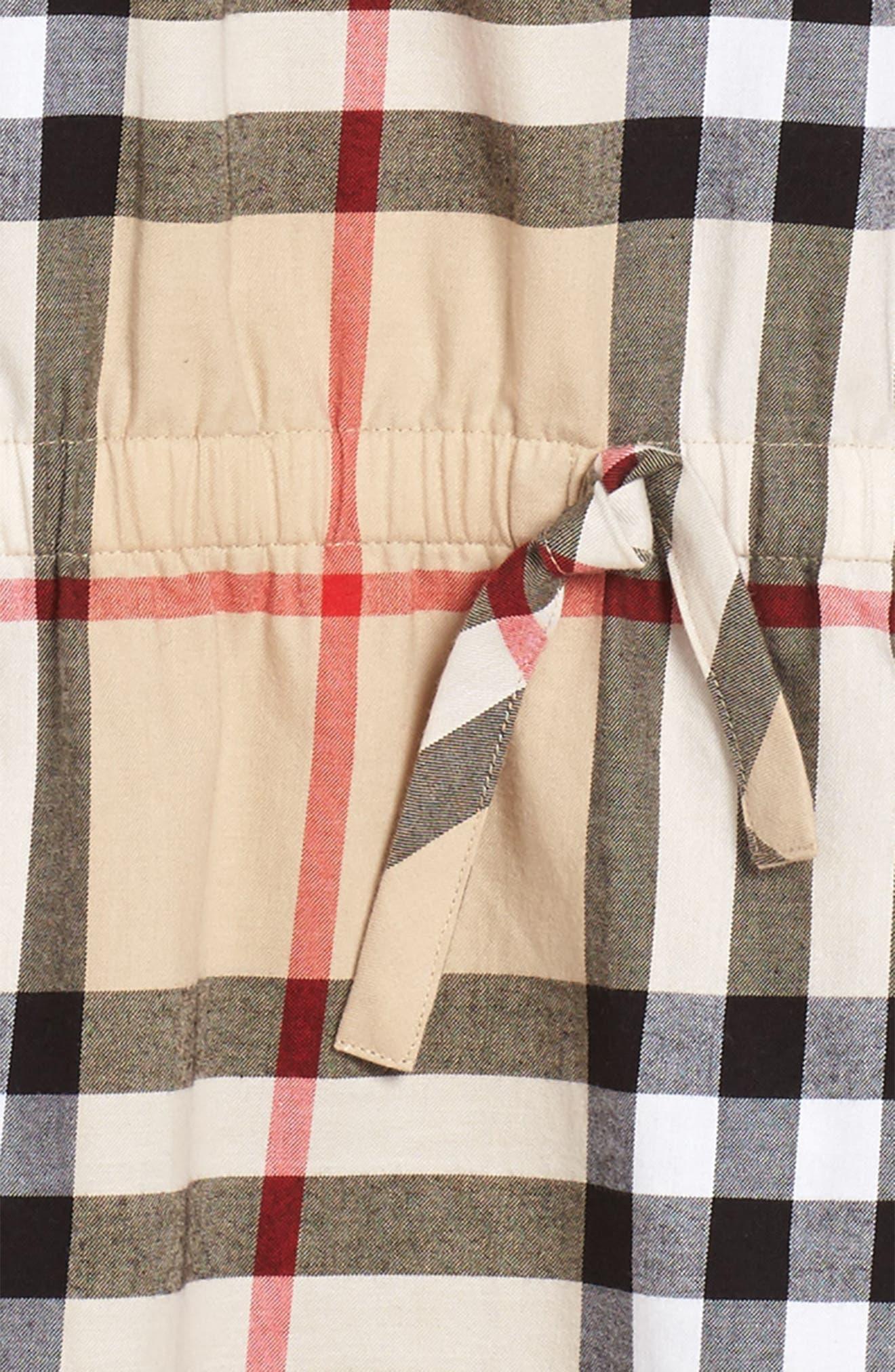 Kadyann Check Dress,                             Alternate thumbnail 3, color,                             New Classic