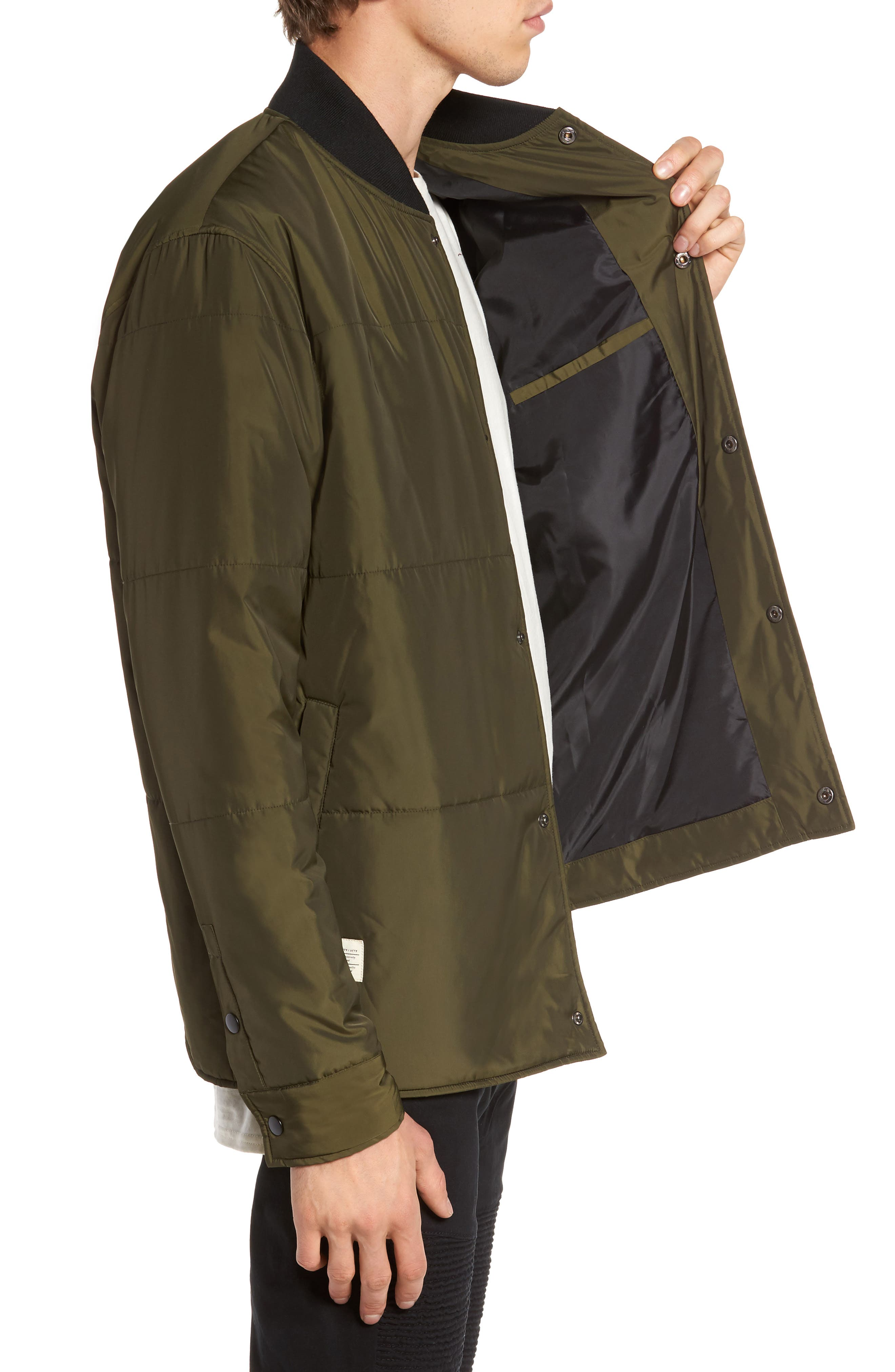 Alternate Image 3  - Lira Clothing Bundy Bomber Jacket