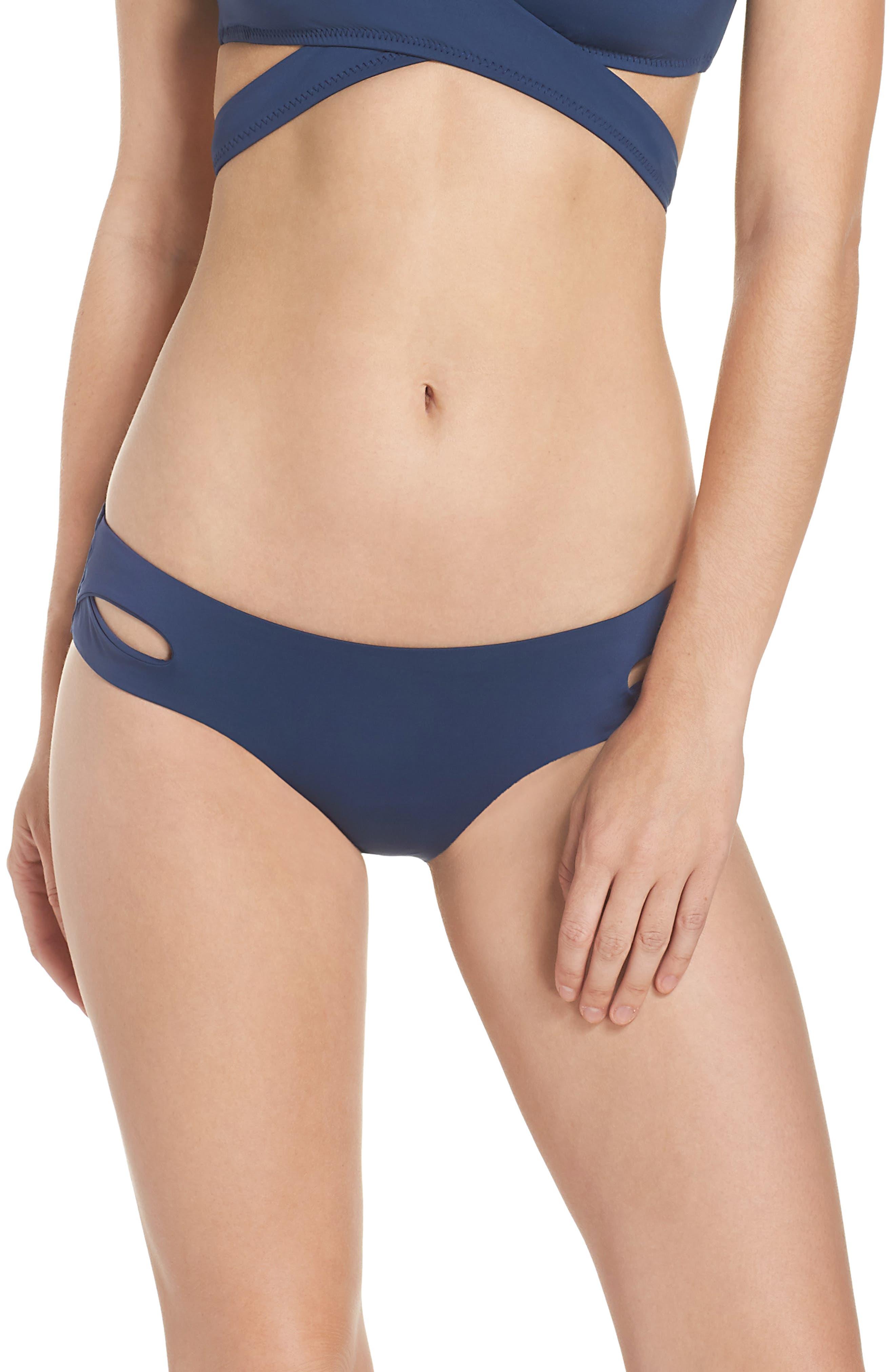 Main Image - Becca Color Code Hipster Bikini Bottoms