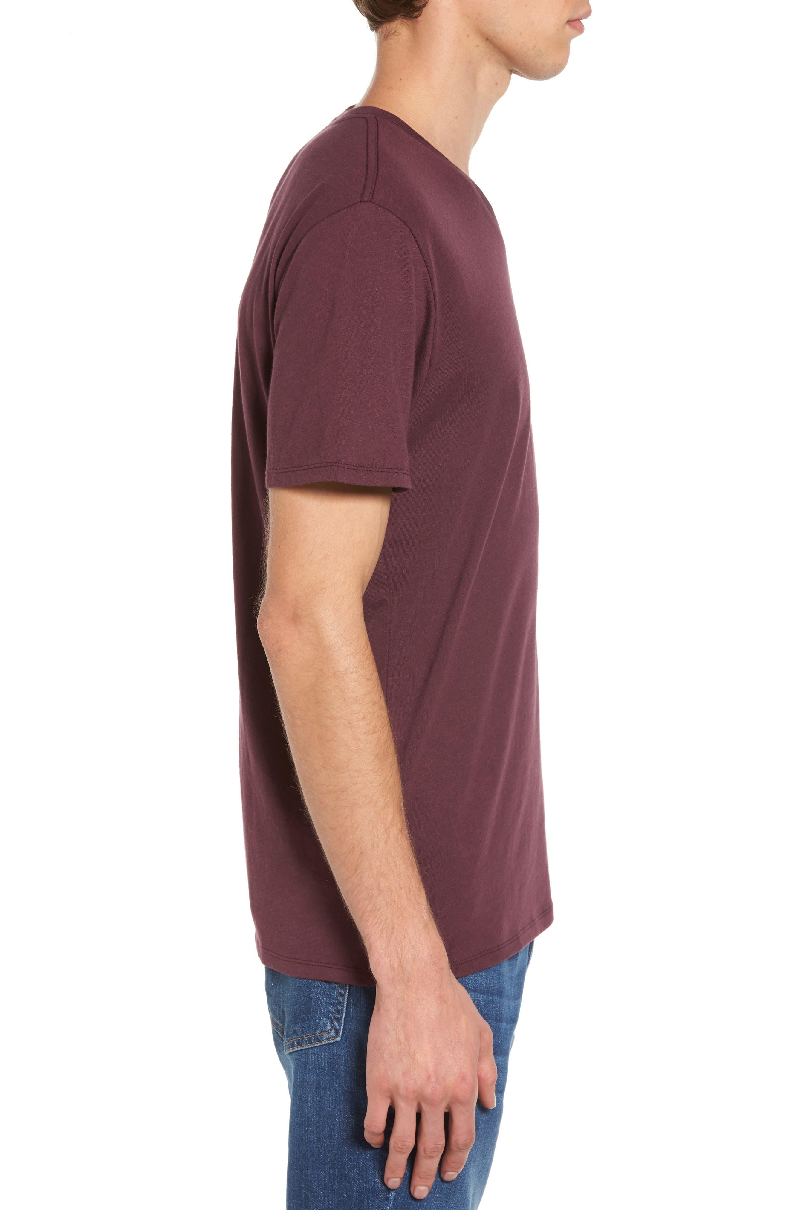 Alternate Image 3  - The Rail Slub Cotton V-Neck T-Shirt (2 for $30)