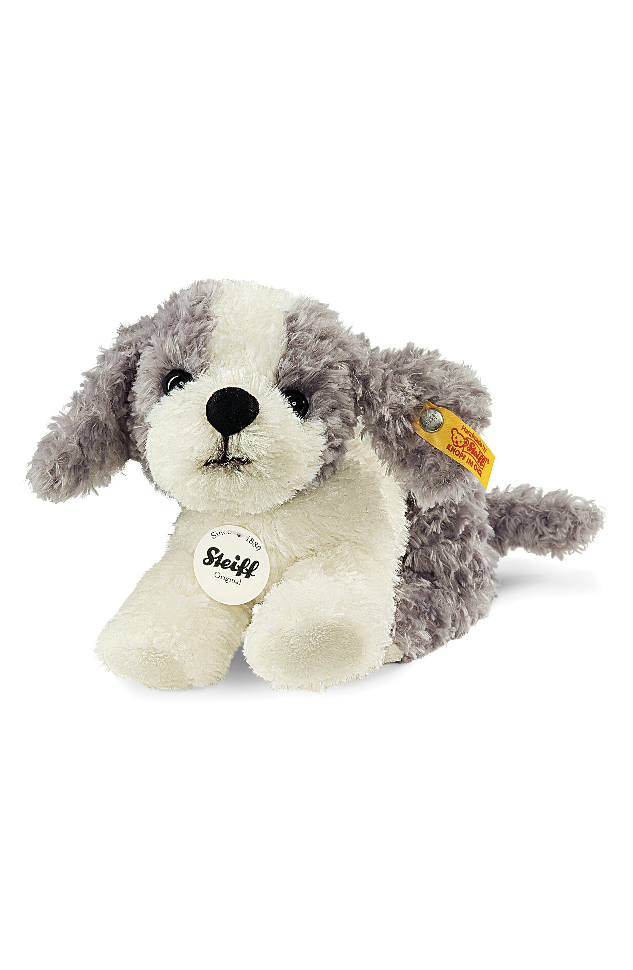 Steiff Little Tommy Puppy Stuffed Animal