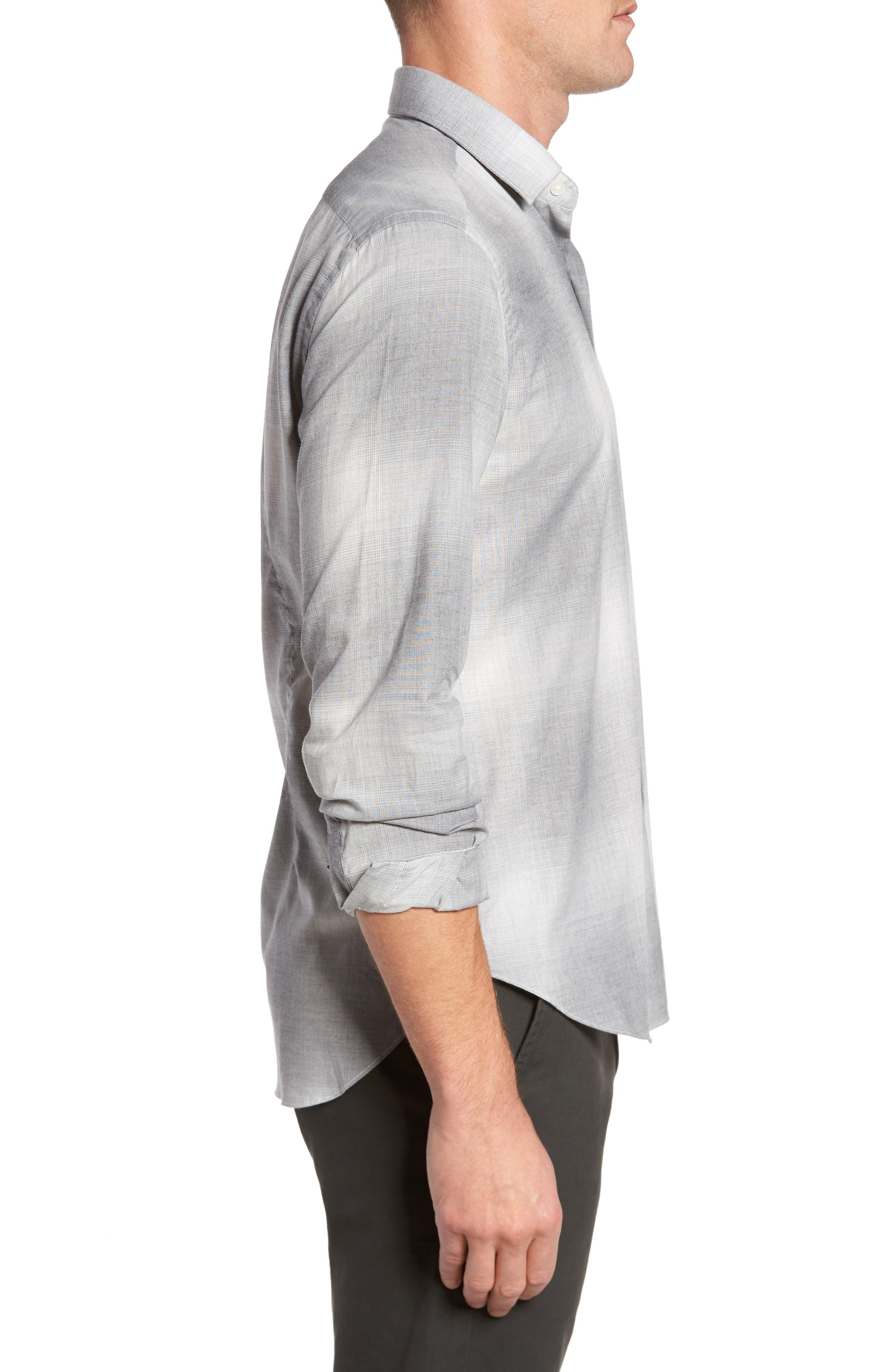 Alternate Image 3  - Culturata Slim Fit Plaid Sport Shirt