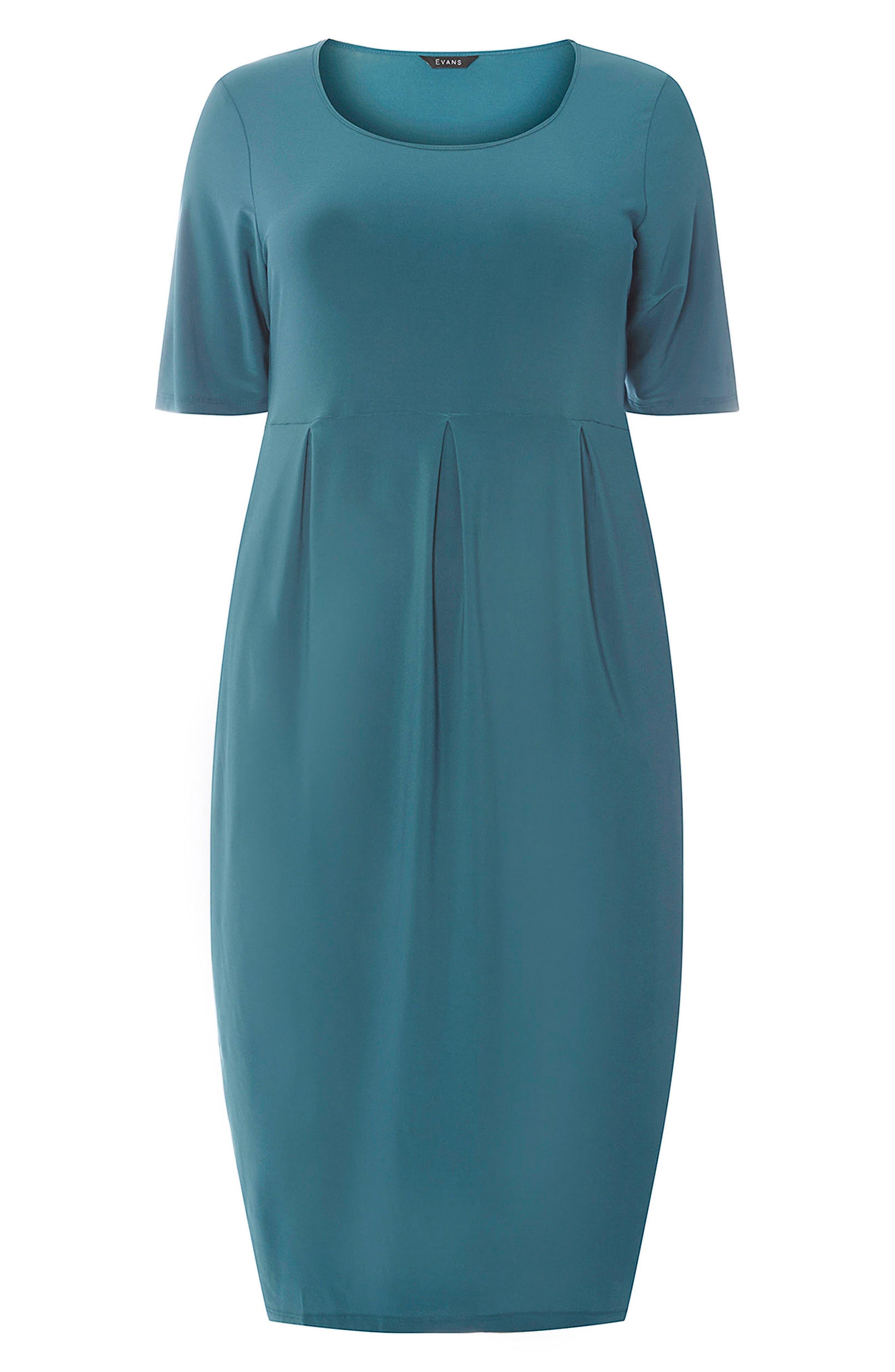Pocket Dress,                             Alternate thumbnail 5, color,                             Green