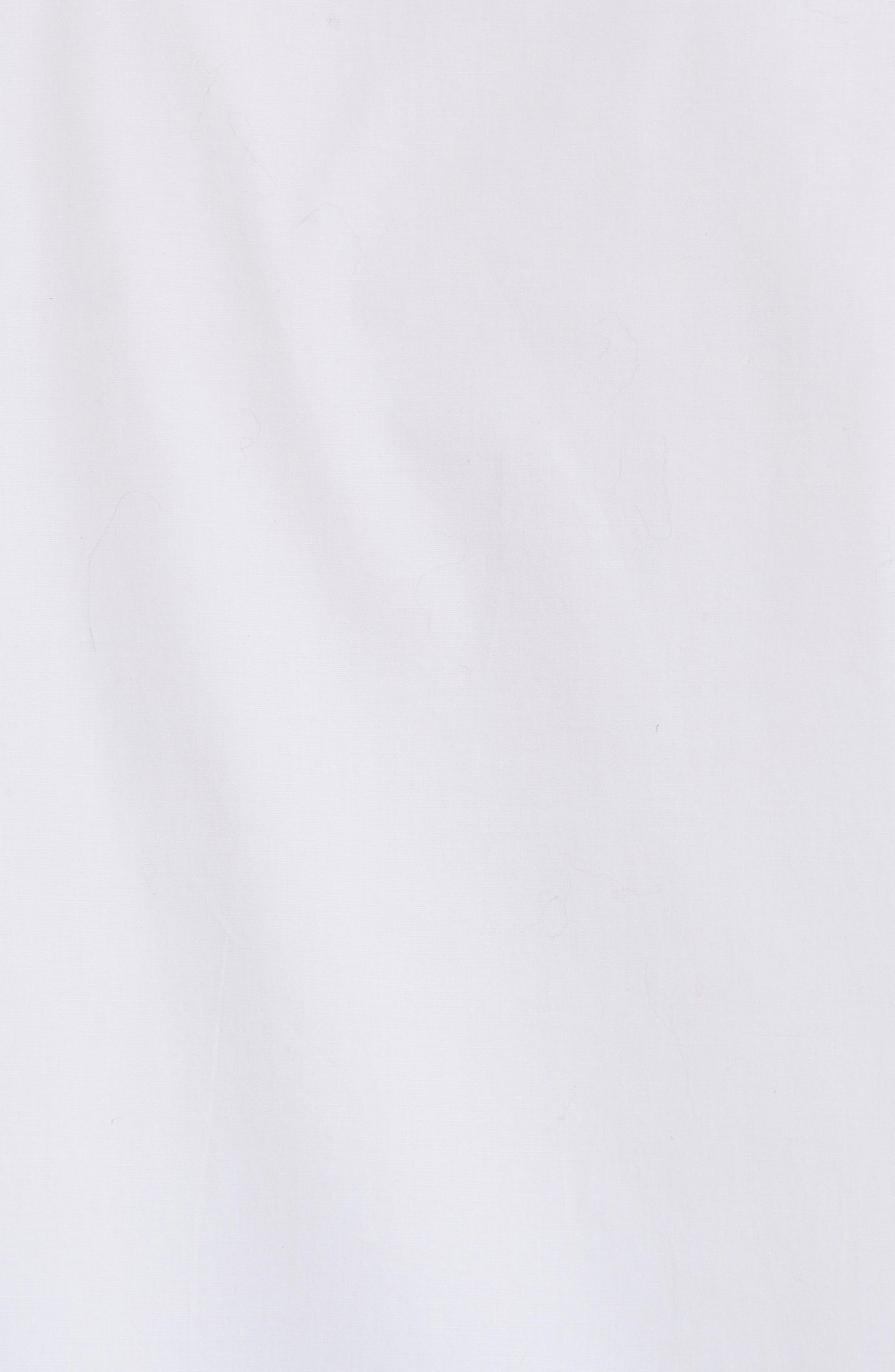 Jasper Stretch Poplin Shirt,                             Alternate thumbnail 5, color,                             White