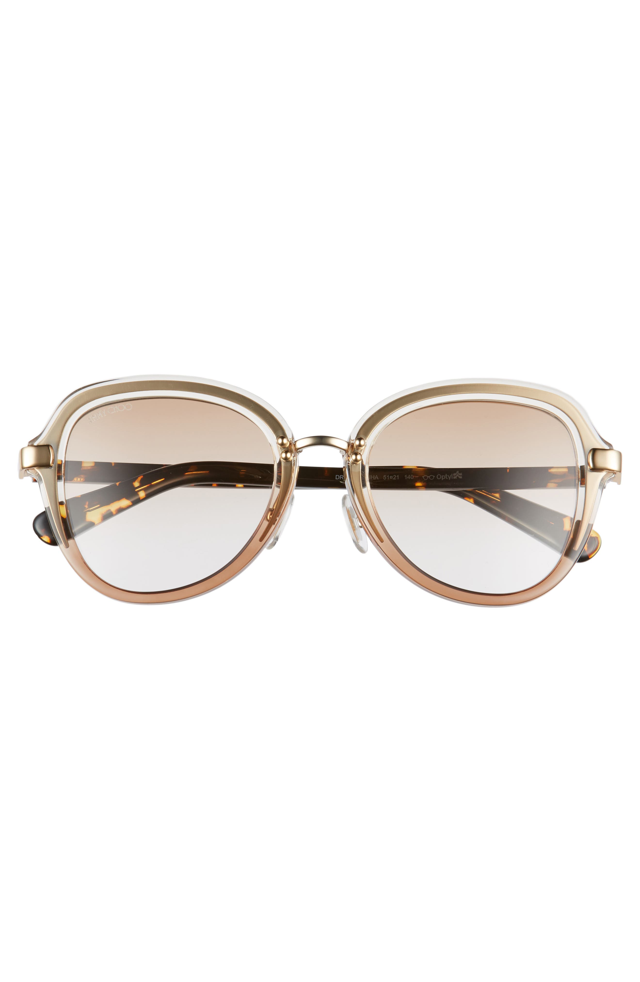 Alternate Image 3  - Jimmy Choo Drees 51mm Gradient Sunglasses