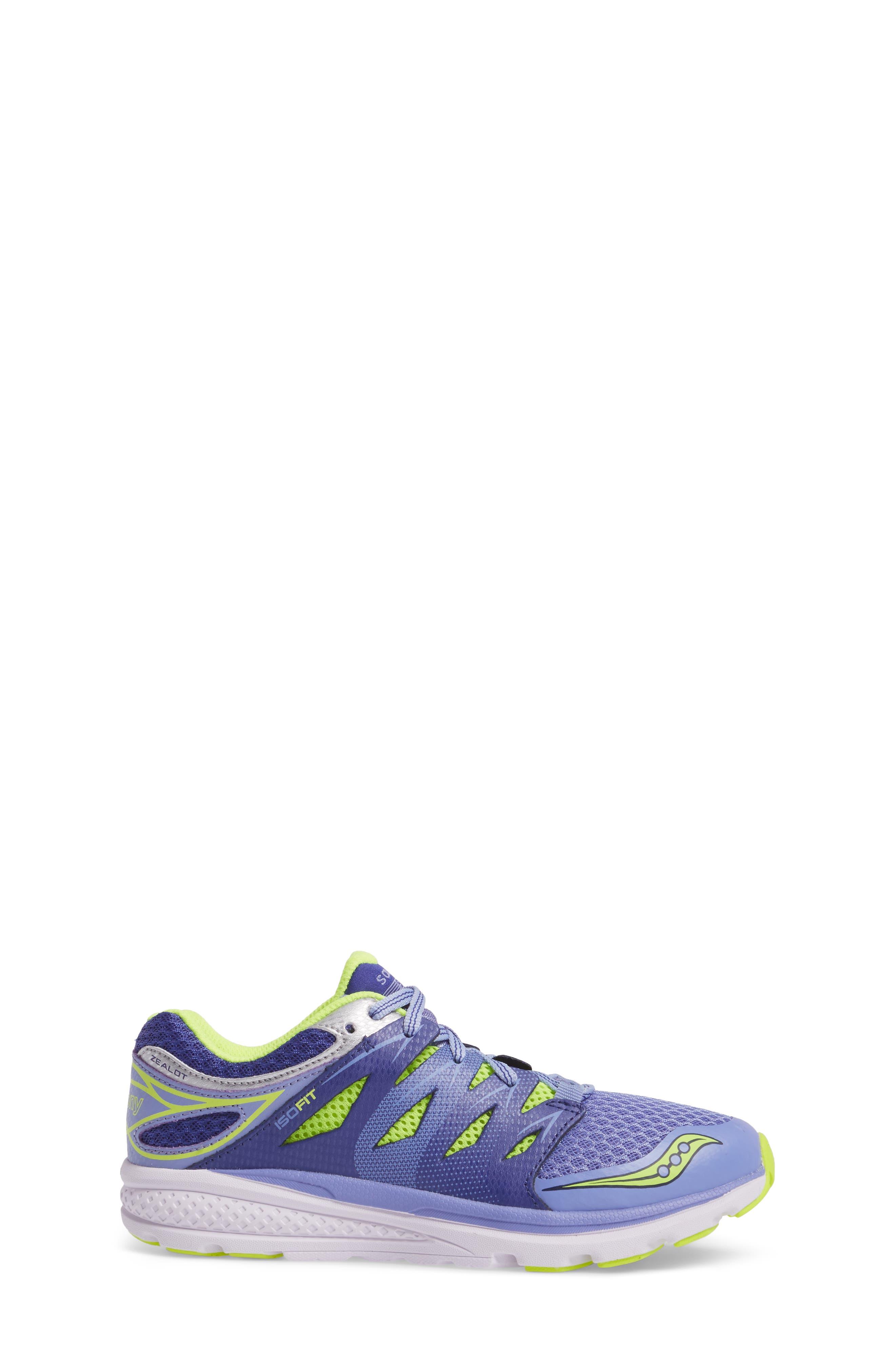 'Zealot 2' Athletic Shoe,                             Alternate thumbnail 3, color,                             Purple/ Blue