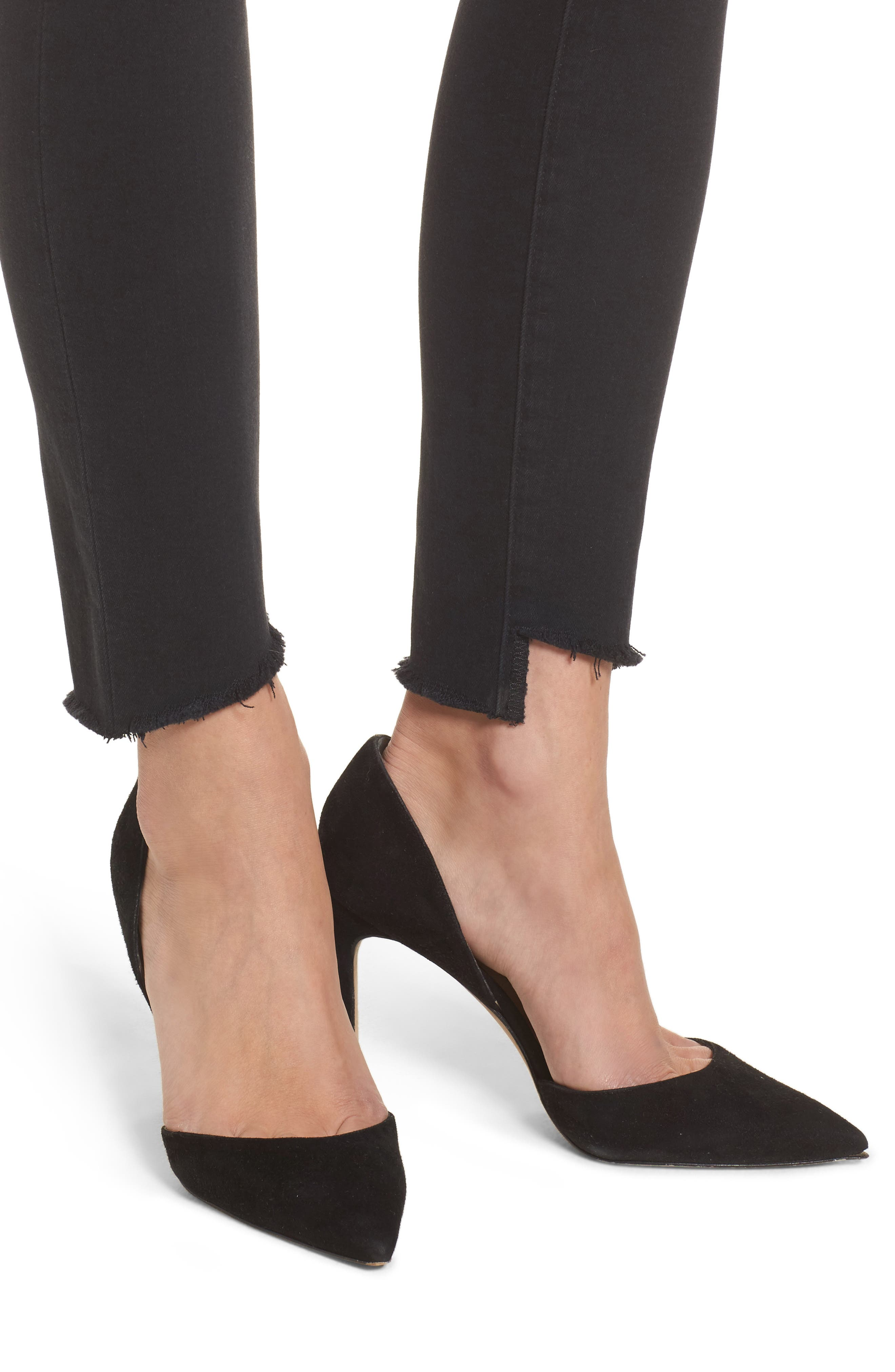 Icon Ankle Skinny Jeans,                             Alternate thumbnail 5, color,                             Iman