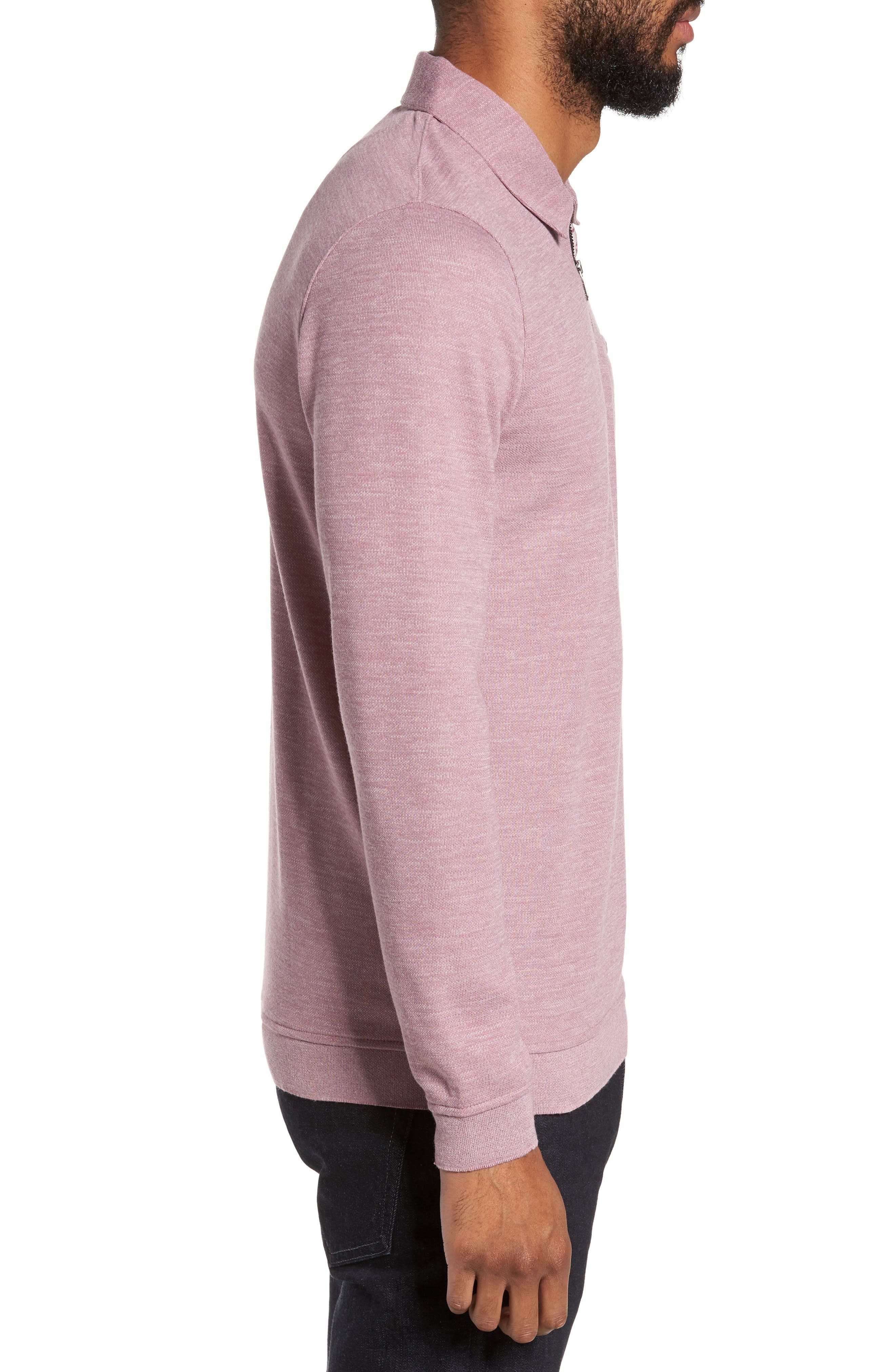 Alternate Image 3  - Ted Baker London Modern Slim Fit Long Sleeve Jersey Polo
