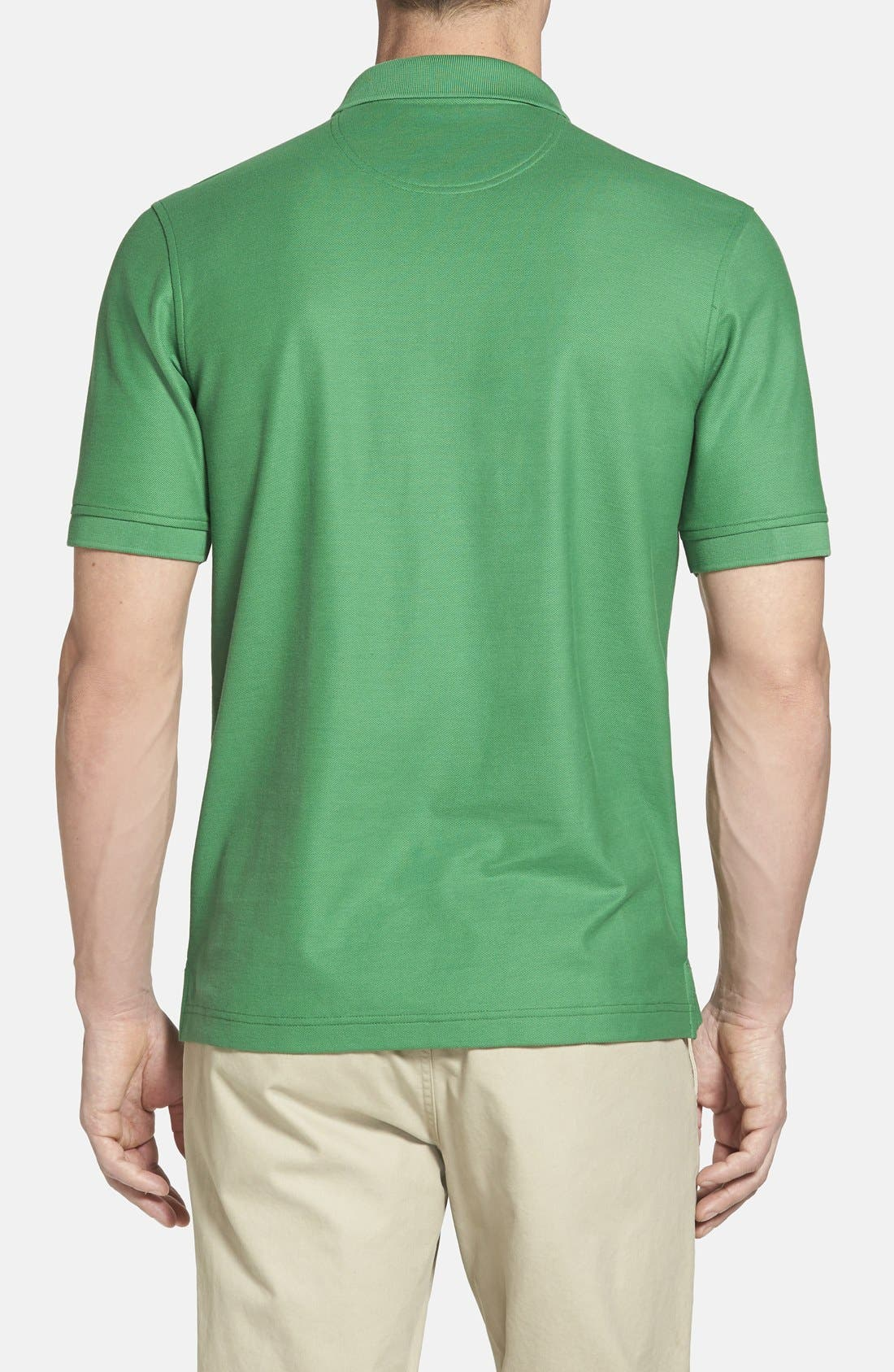 Alternate Image 2  - Nordstrom Men's Shop 'Classic' Regular Fit Piqué Polo