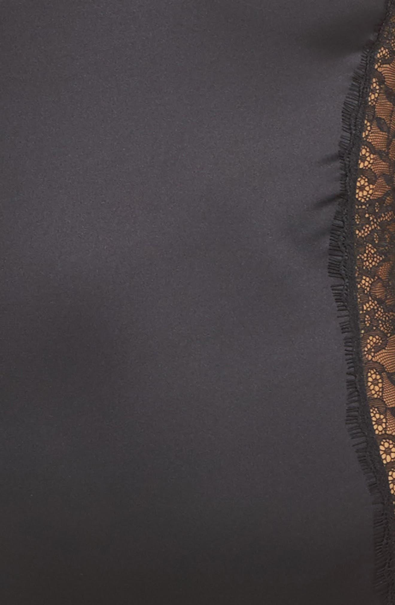 Thong Bodysuit,                             Alternate thumbnail 6, color,                             Black