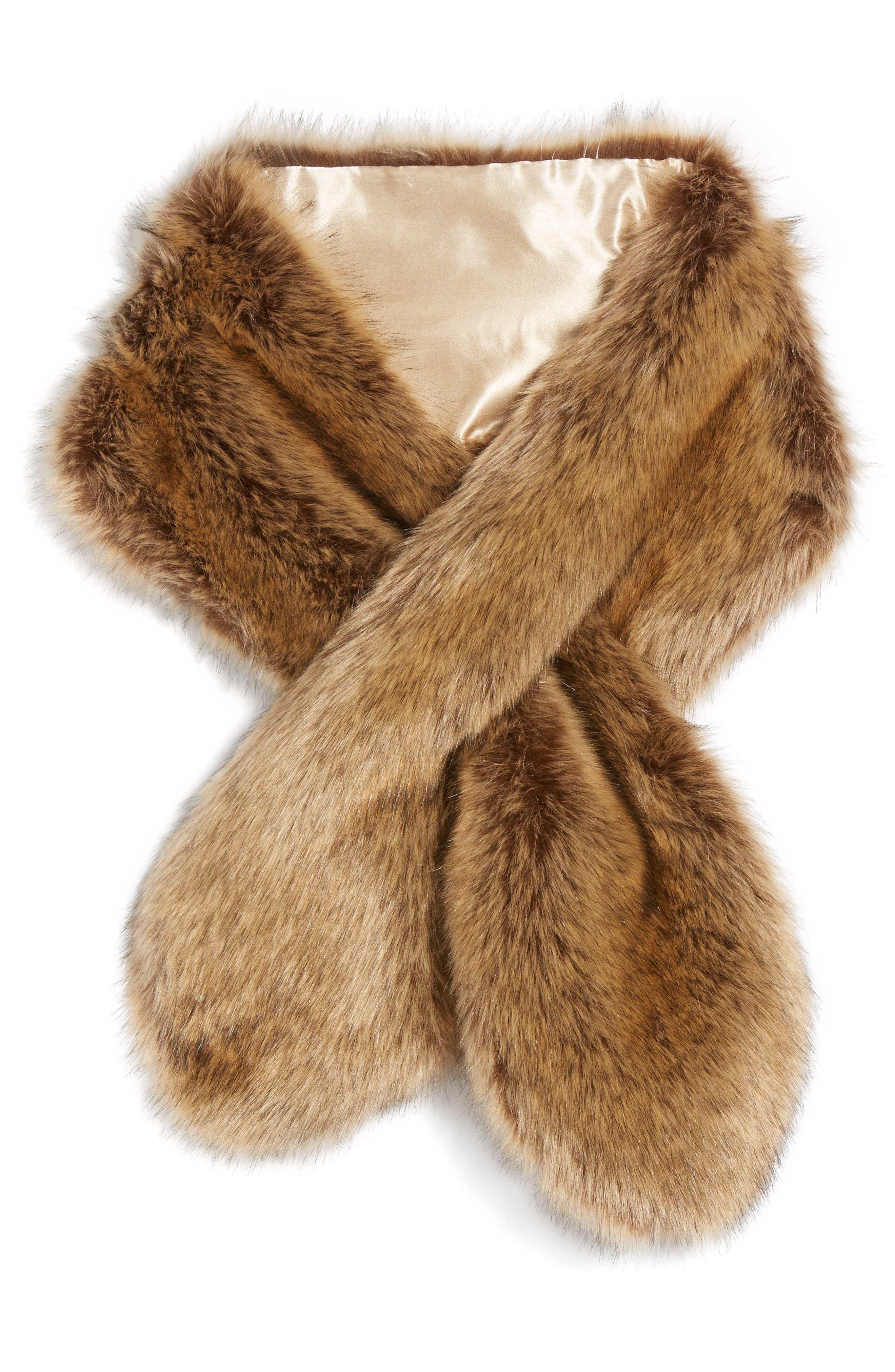 Alternate Image 3  - Sole Society Oversize Faux Fur Wrap