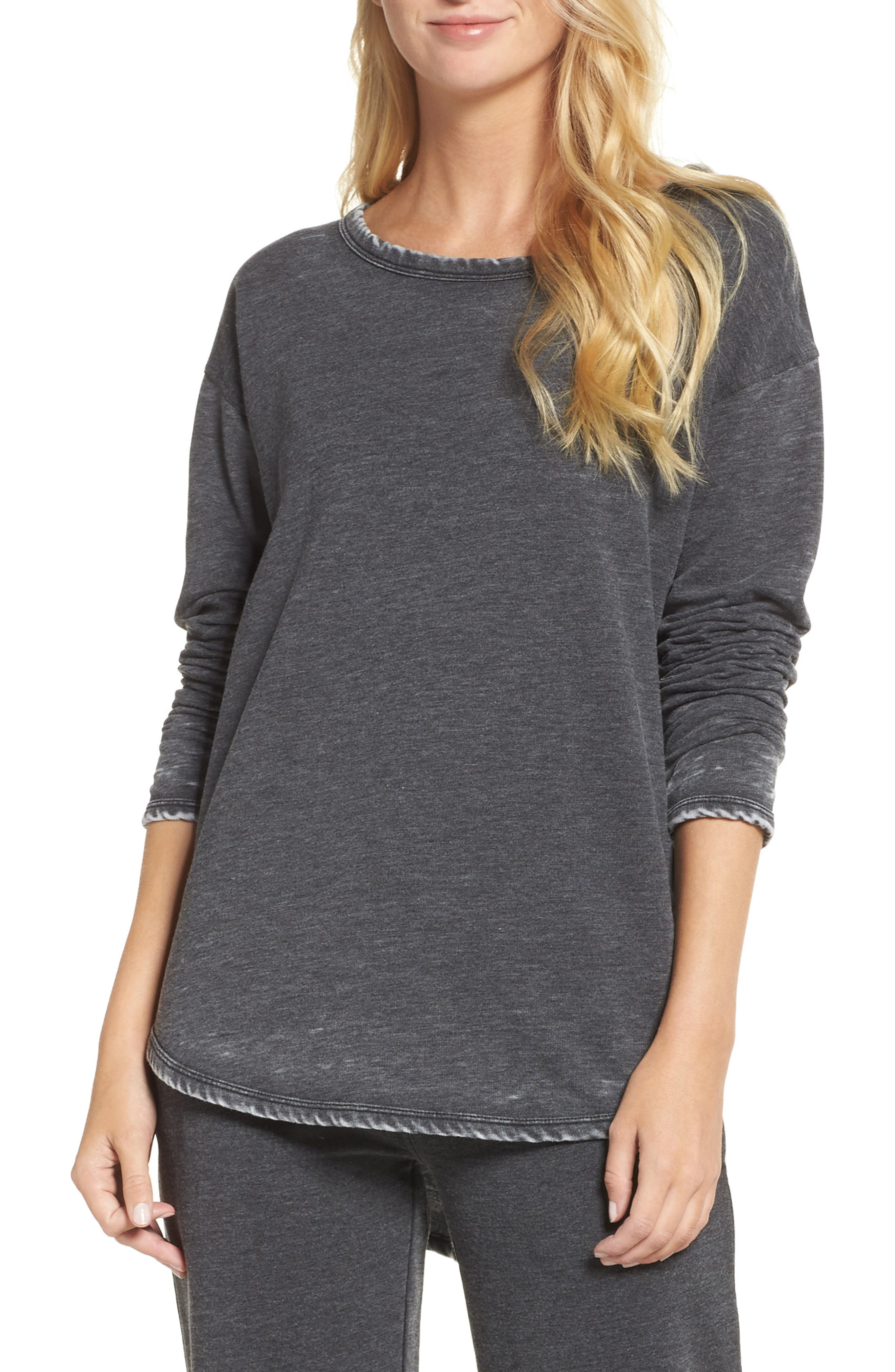 Cora High/Low Top,                         Main,                         color, Charcoal