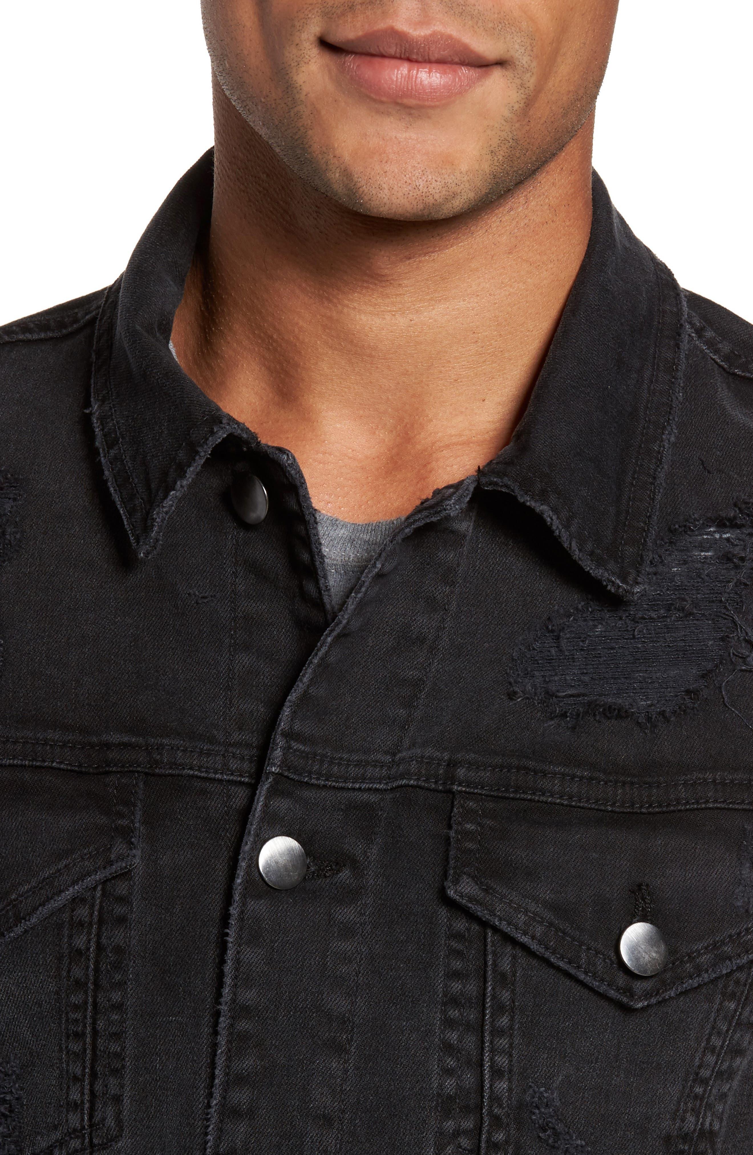 Alternate Image 4  - FRAME L'Homme Denim Jacket