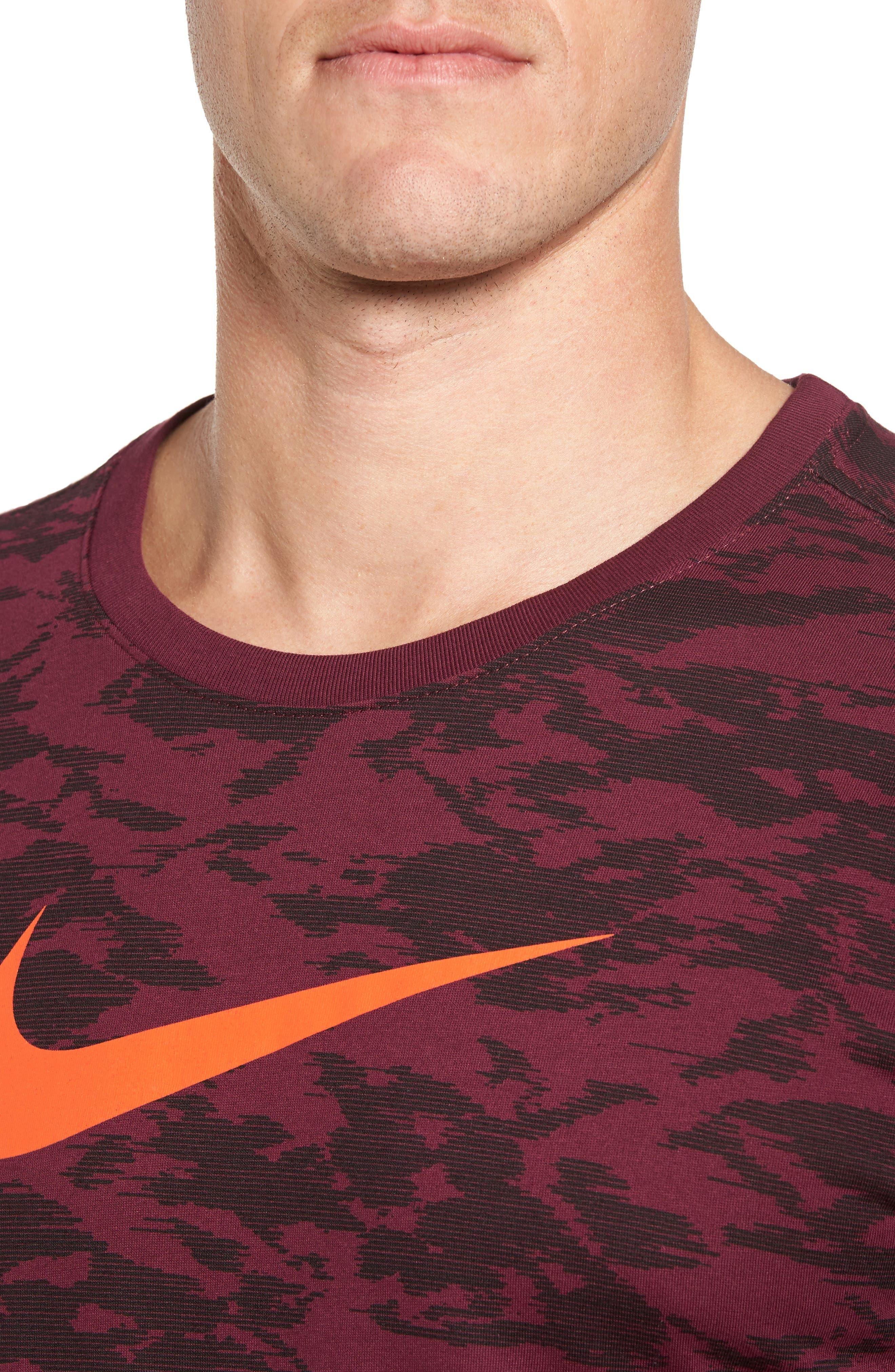 Alternate Image 4  - Nike Basketball Attack Logo T-Shirt