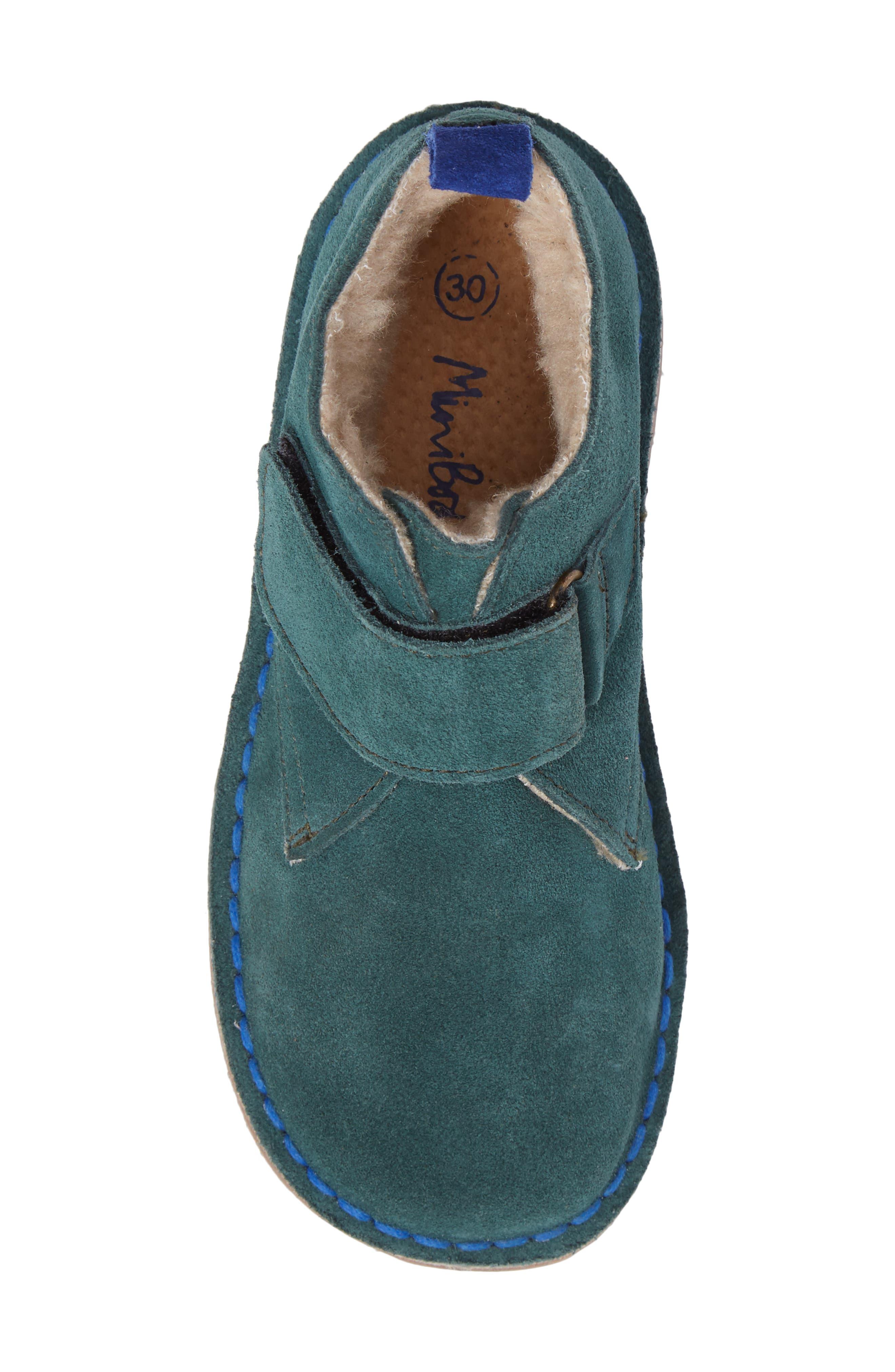 Alternate Image 5  - Mini Boden Faux Fur Desert Boot (Toddler, Little Kid & Big Kid)