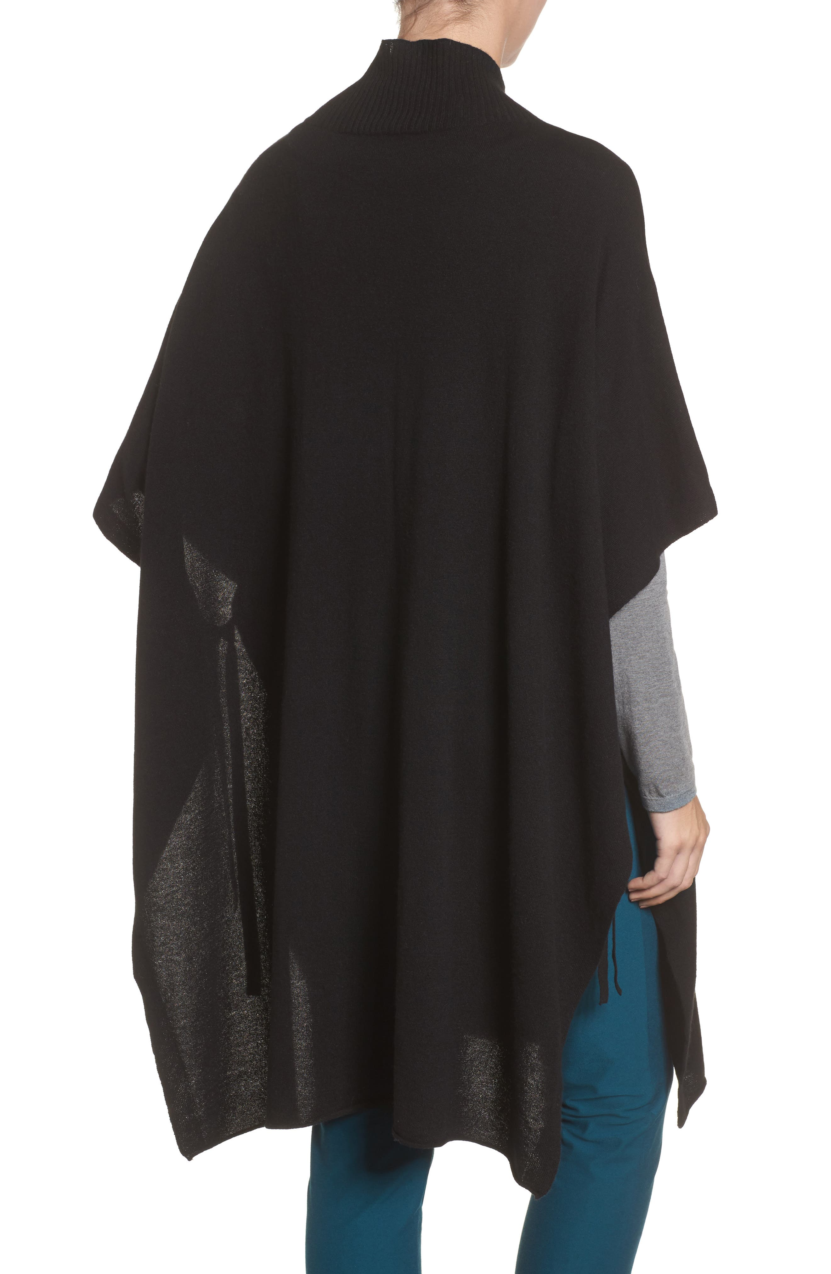 Alternate Image 2  - Eileen Fisher Cashmere Poncho