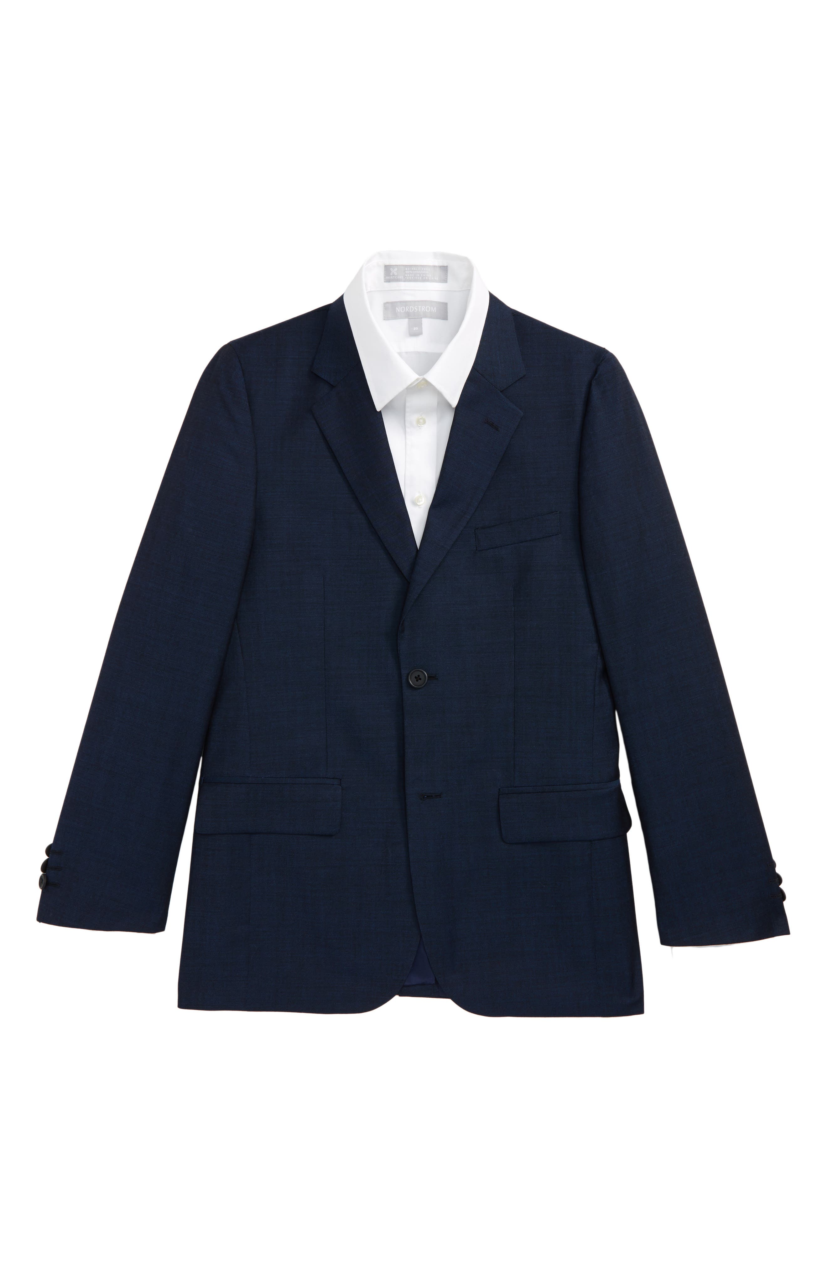Alternate Image 1 Selected - JB Jr Wool Sport Coat (Big Boys)
