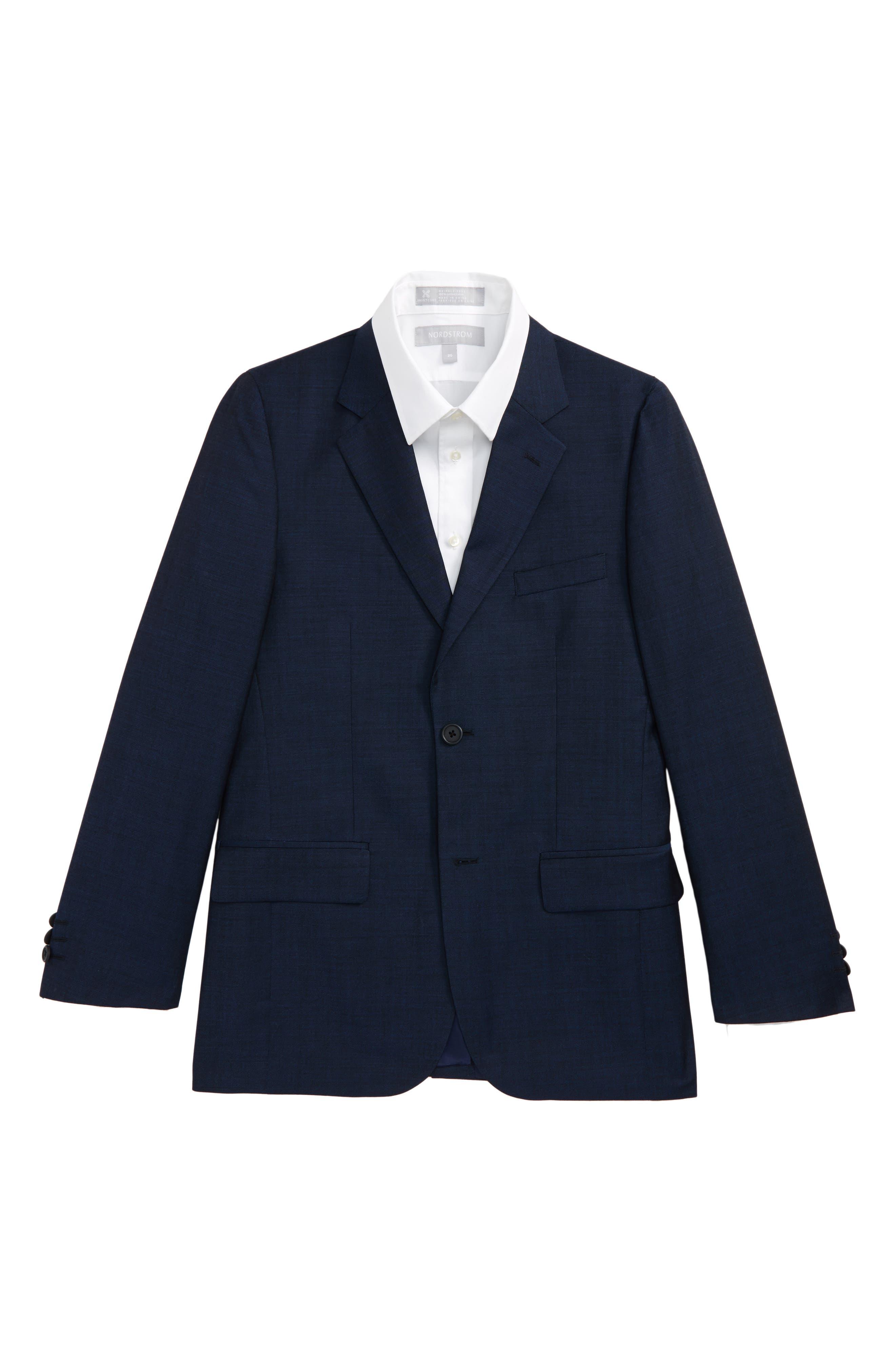 Main Image - JB Jr Wool Sport Coat (Big Boys)