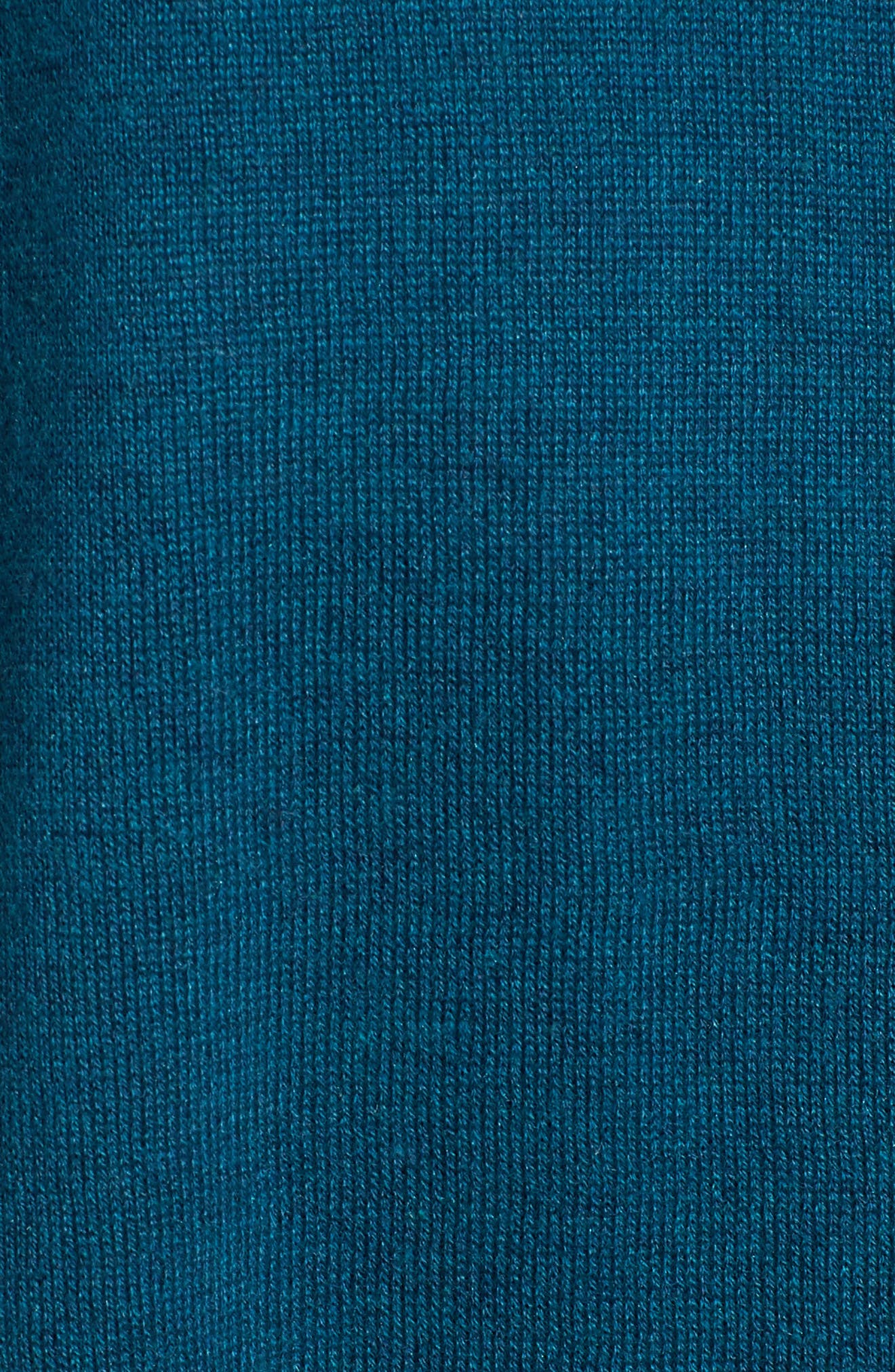 Tie Waist Tencel<sup>®</sup> Lyocell Blend Cardigan,                             Alternate thumbnail 5, color,                             Blue Spruce