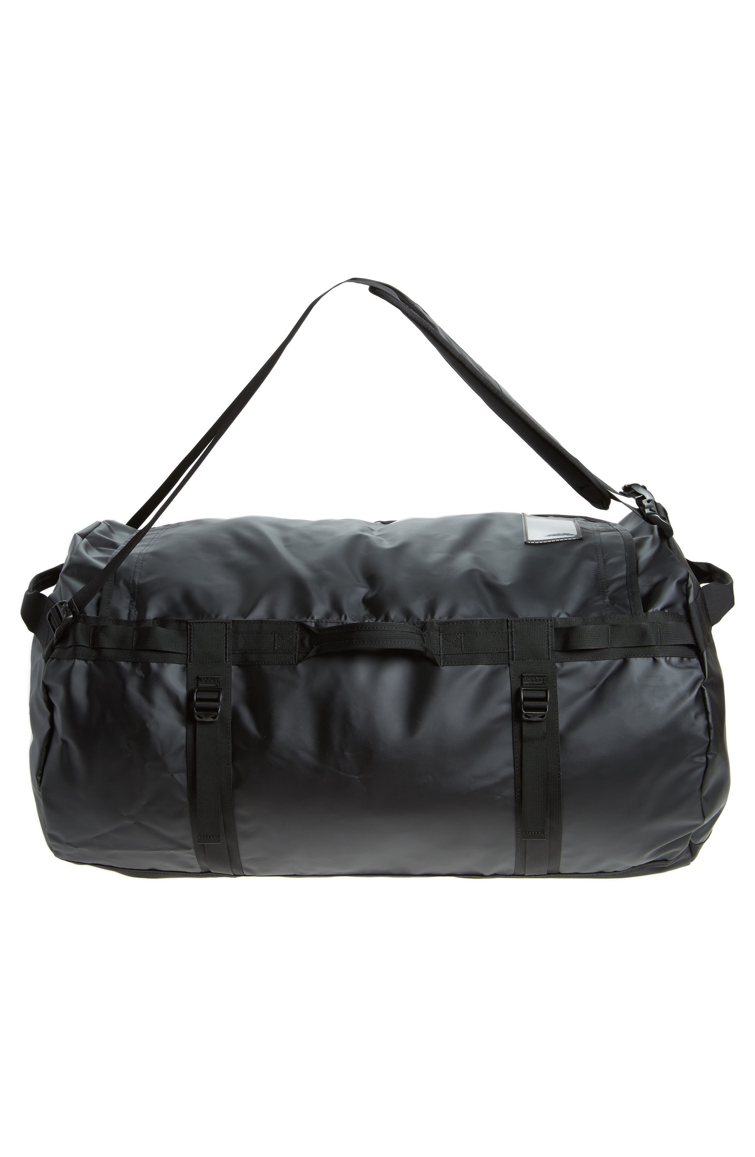 Base Camp XL Duffel Bag,                             Alternate thumbnail 3, color,                             Black